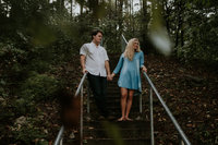 Woodlands Engagement Session