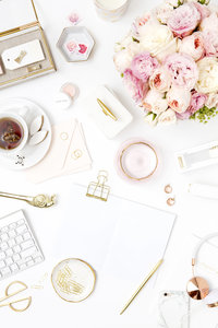 M_Blush Gold 13Styled Desktop_Styled Stock Photography_Image