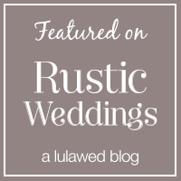 Rustic Weddings Blog feature