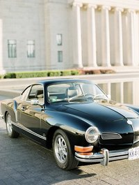 This classic ghia was shot on film at the Nelson Atkins.