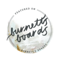 Burnett's Boards best wedding planner | Parisian intimate wedding | Cafe wedding