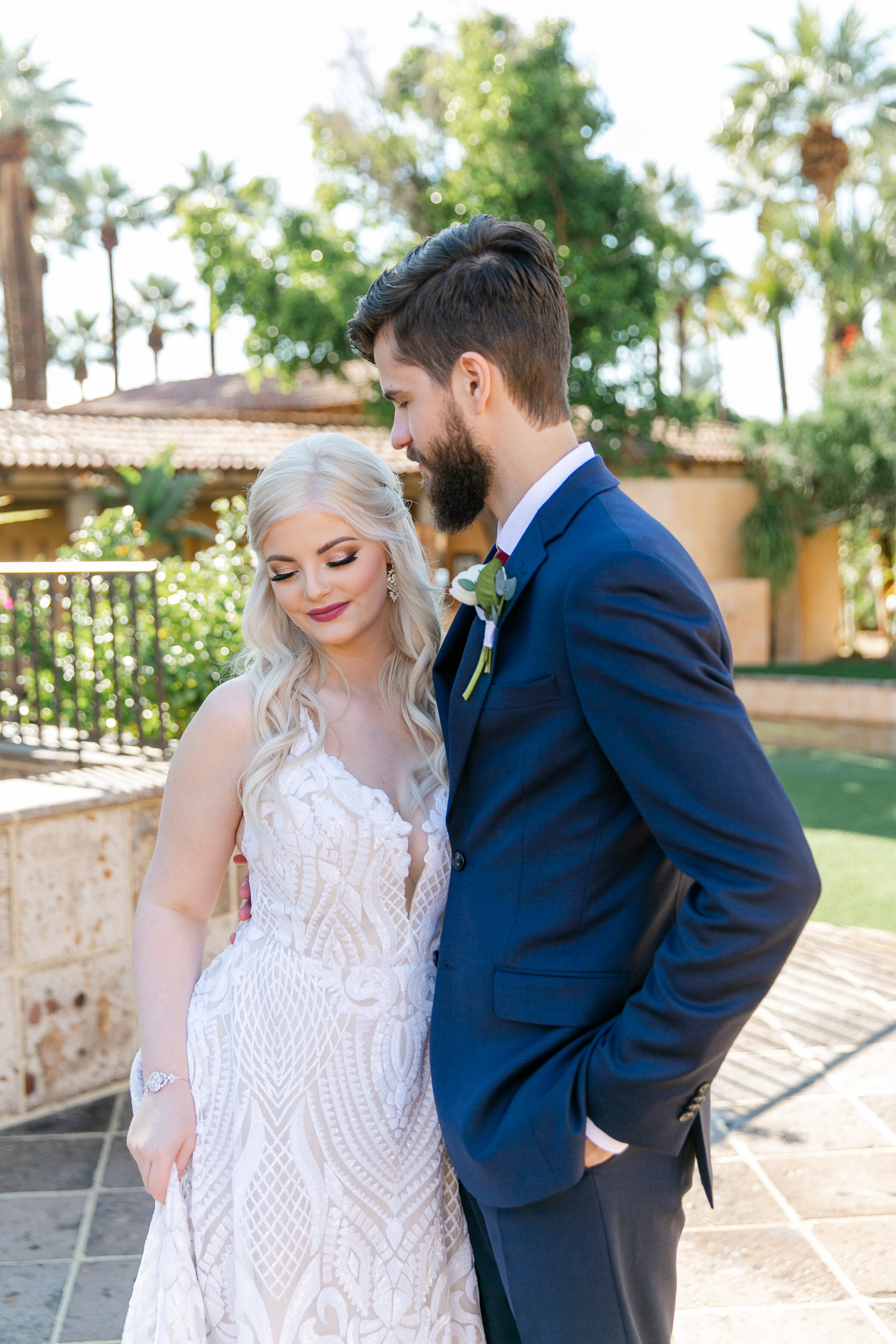 Karlie Colleen Photography - The Royal Palms Wedding - Some Like It Classic - Alex & Sam-126