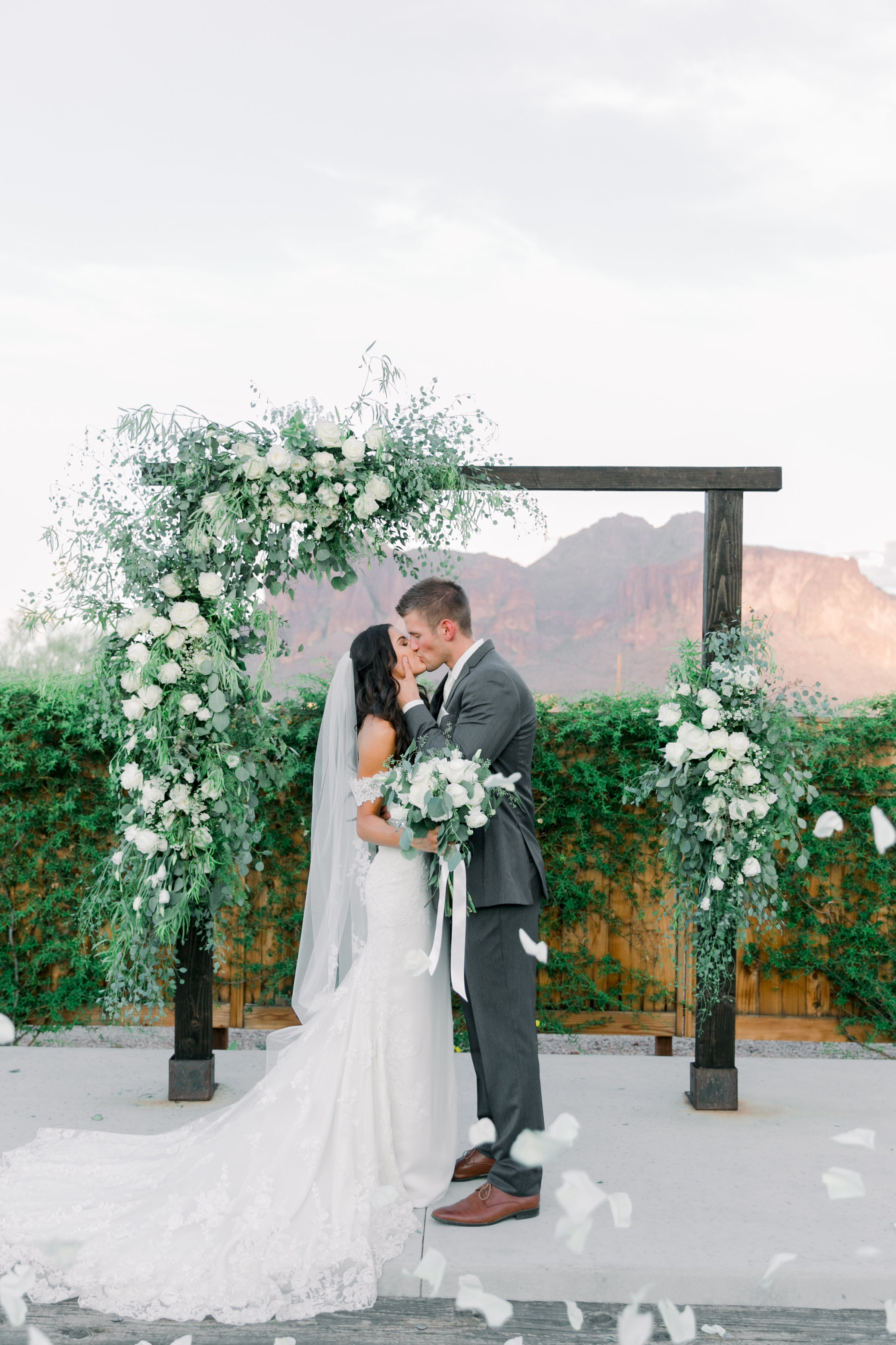 Karlie Colleen Photography - The Paseo Arizona Desert Wedding - Jackie & Ryan-170