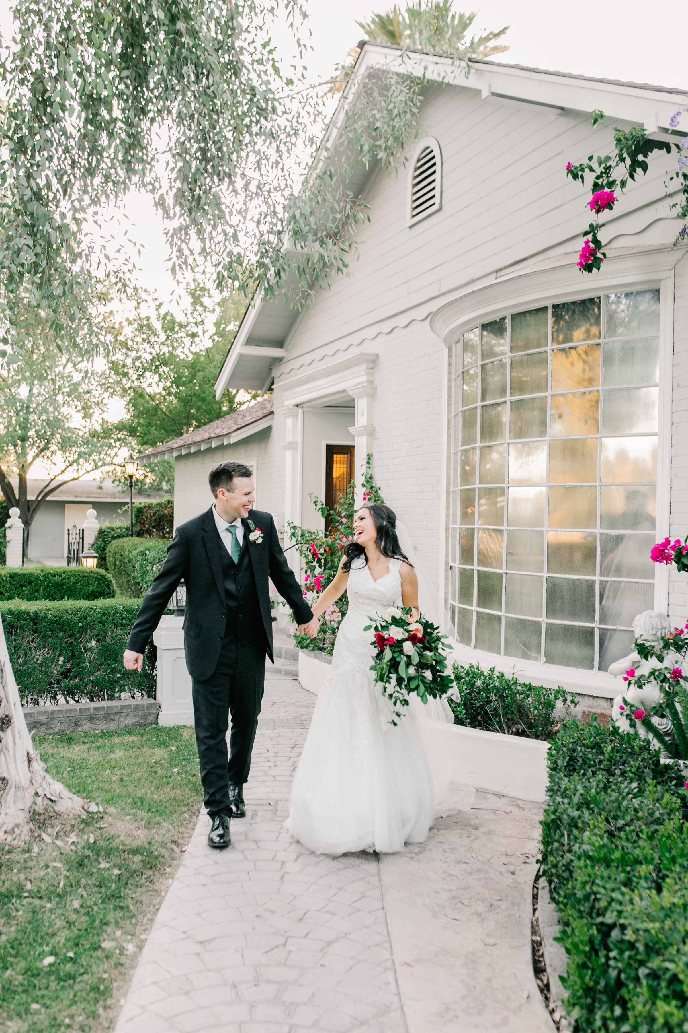 Karlie Colleen Photography - Claire & PJ Sneak Peak- The Wright House - Phoenix Arizona -132