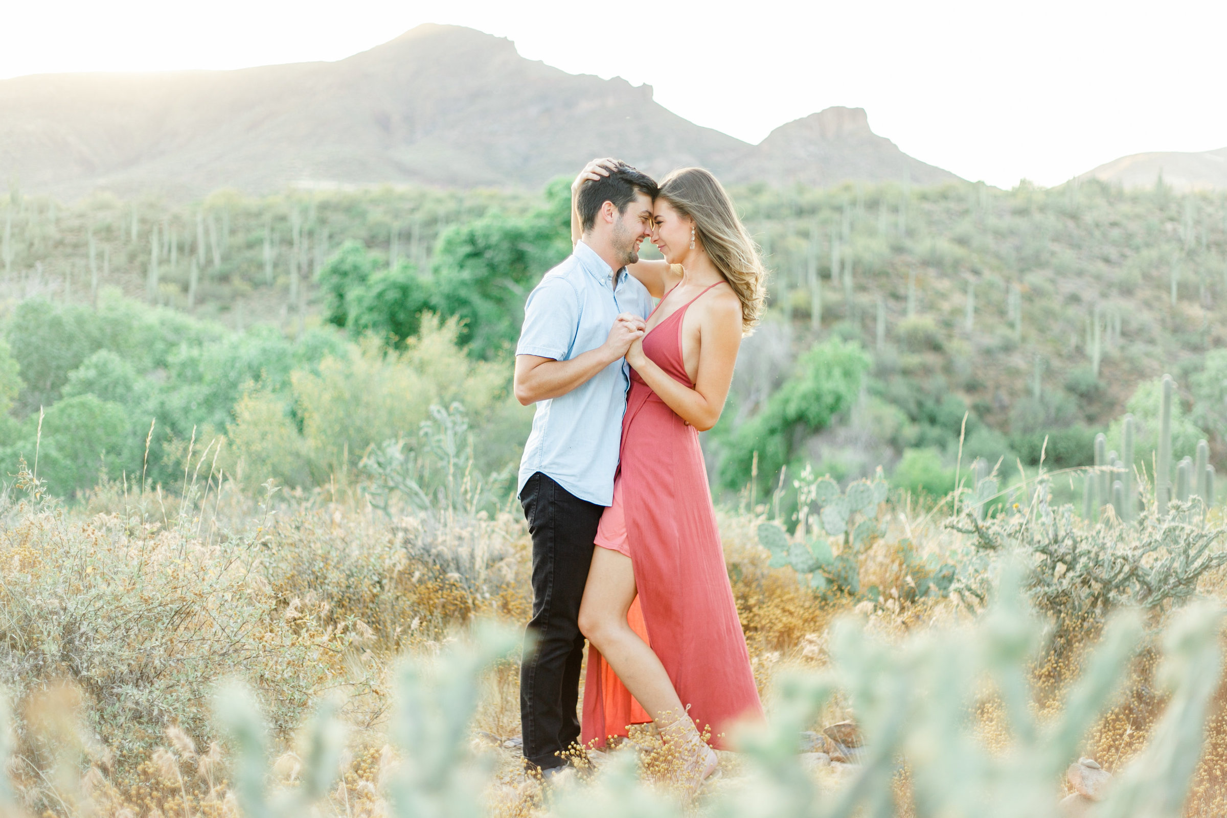 Karlie Colleen Photography - Arizona Desert Engagement - Brynne & Josh -164