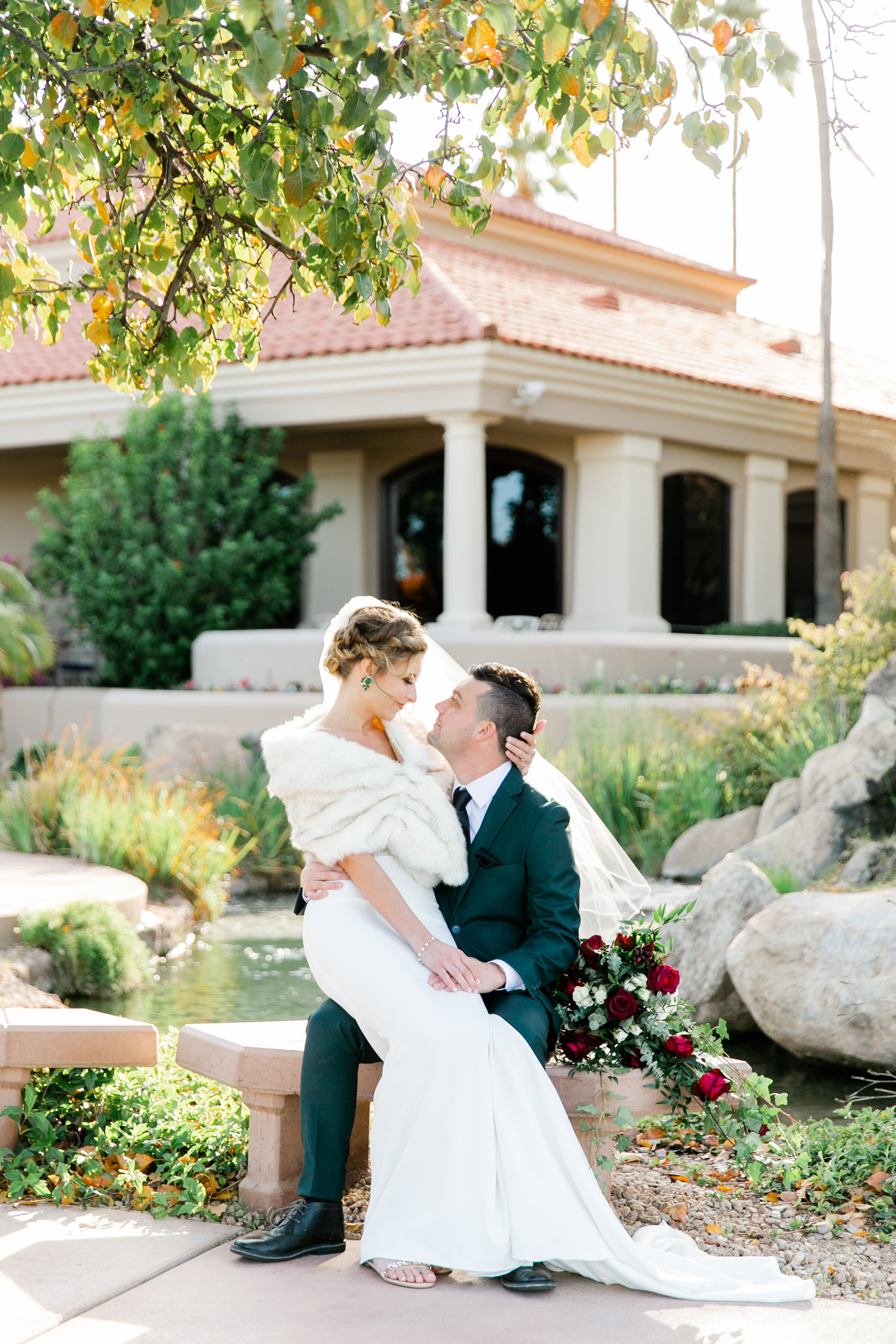 Karlie Colleen Photography - Gilbert Arizona Wedding - Val Vista Lakes - Brynne & Josh-452