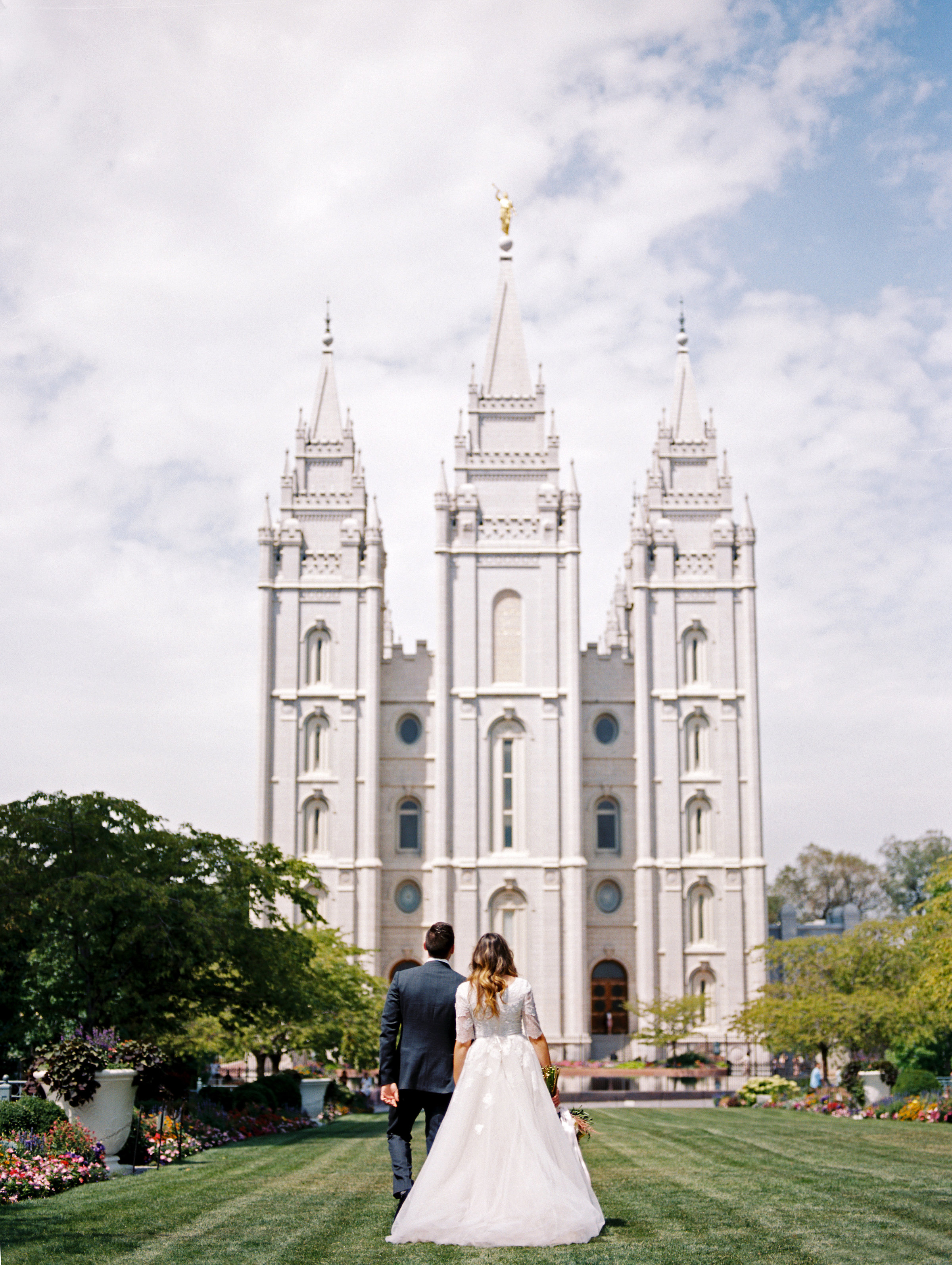 Tess and Kade Salt Lake City Temple Wedding 090