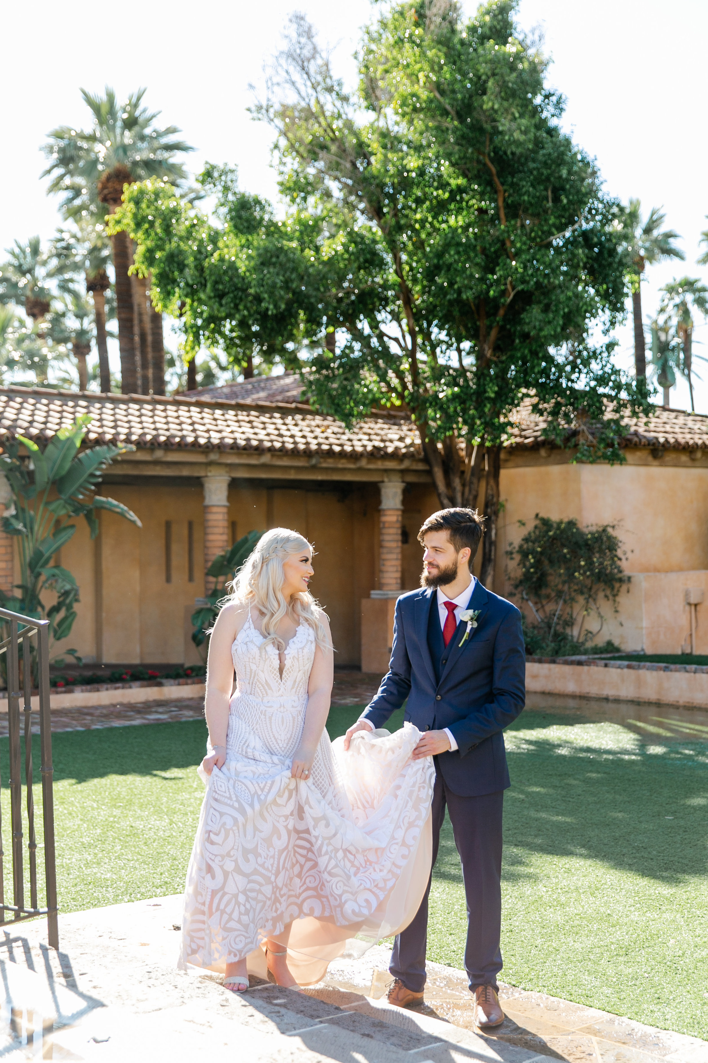 Karlie Colleen Photography - The Royal Palms Wedding - Some Like It Classic - Alex & Sam-171
