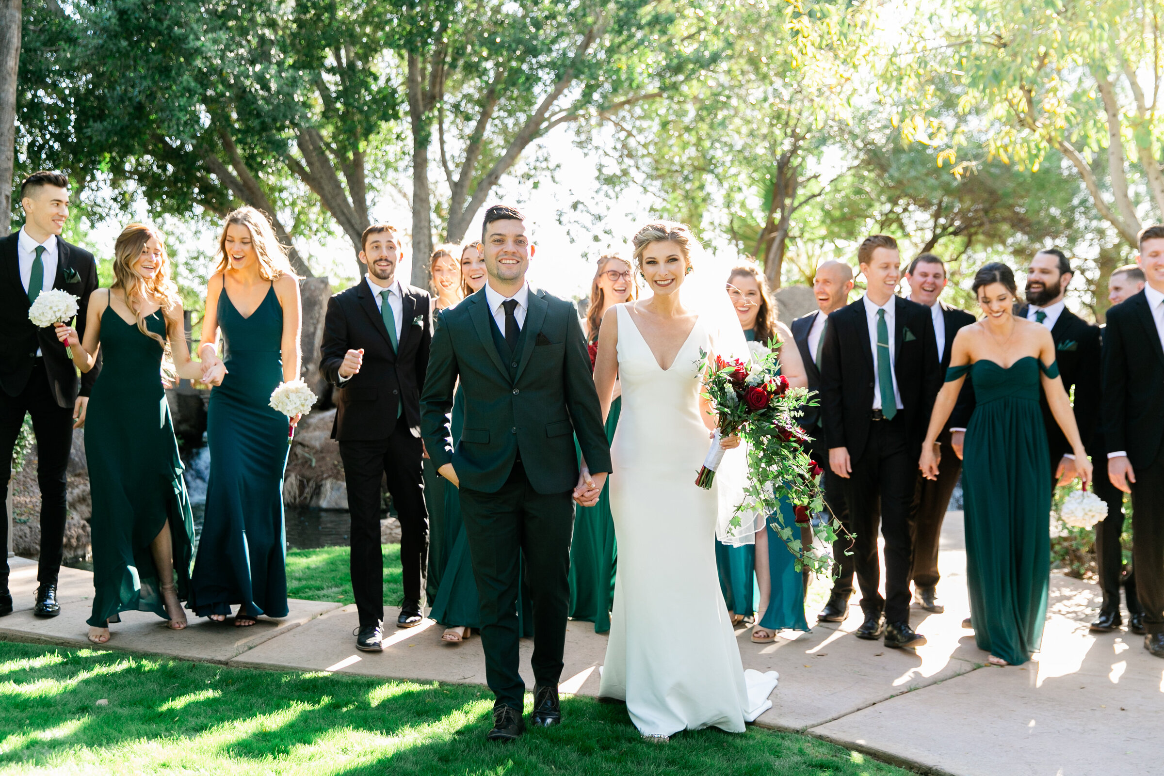 Karlie Colleen Photography - Gilbert Arizona Wedding - Val Vista Lakes - Brynne & Josh-194