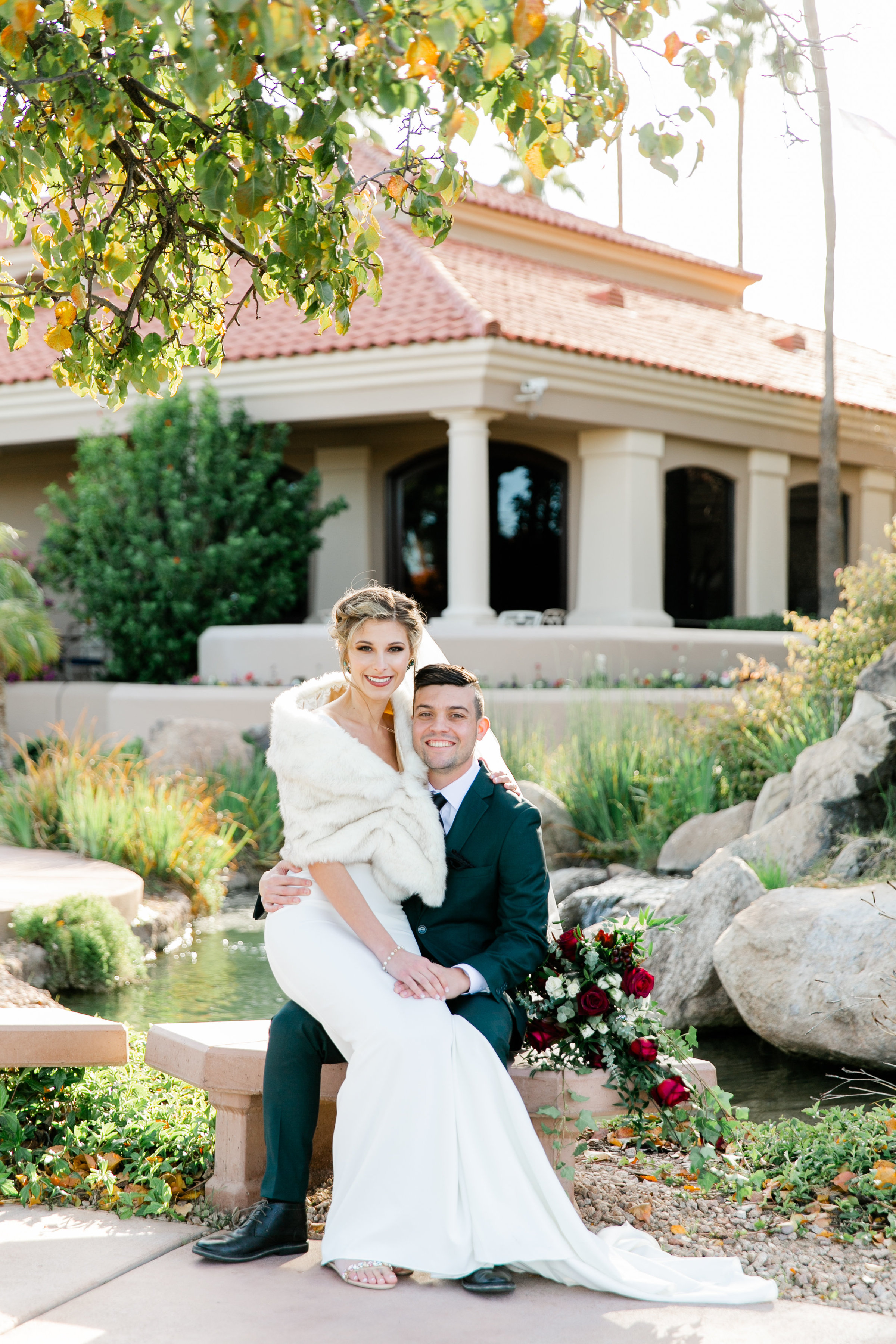Karlie Colleen Photography - Gilbert Arizona Wedding - Val Vista Lakes - Brynne & Josh-445