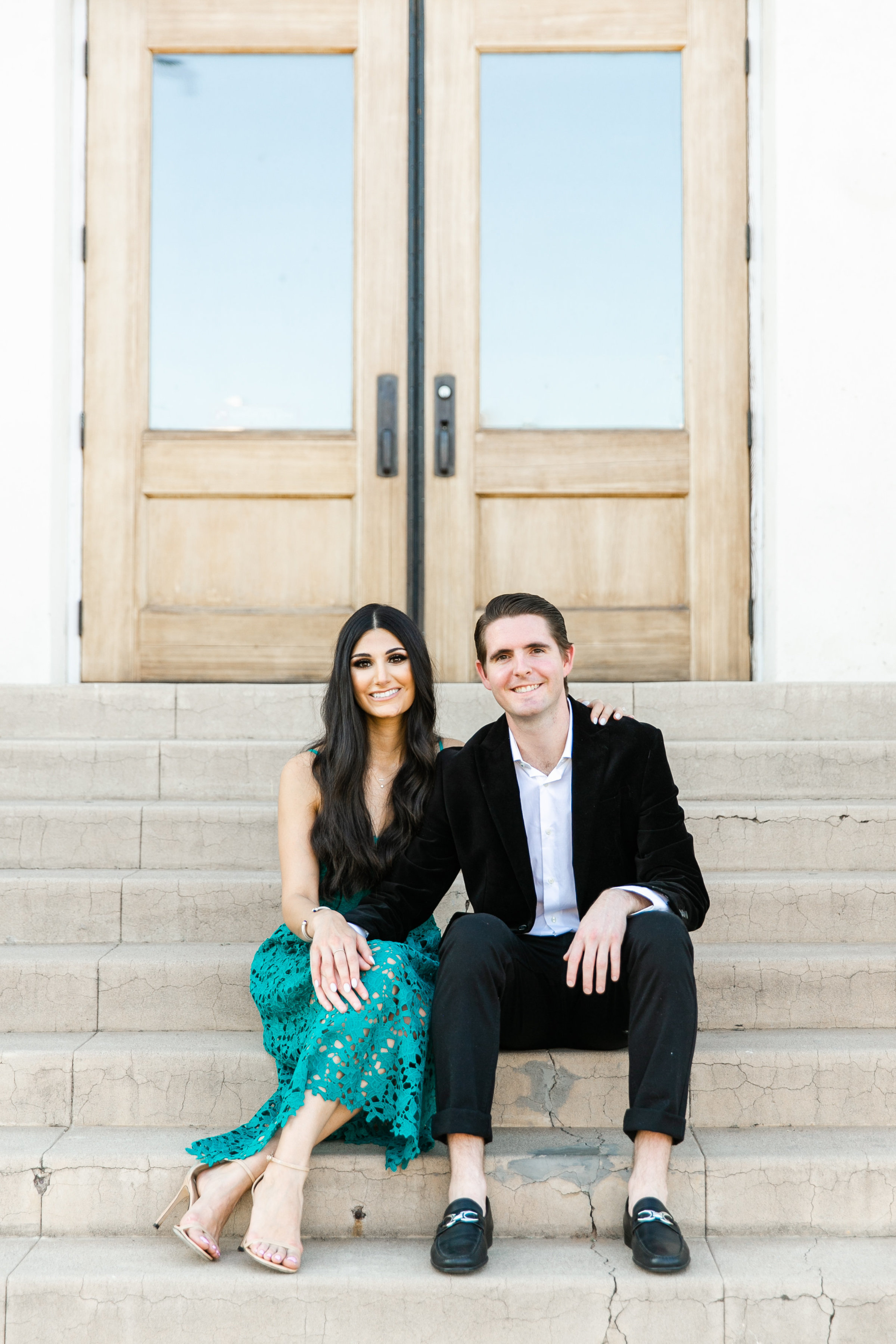 Karlie Colleen Photography - Arizona Engagement City Shoot - Kim & Tim-146