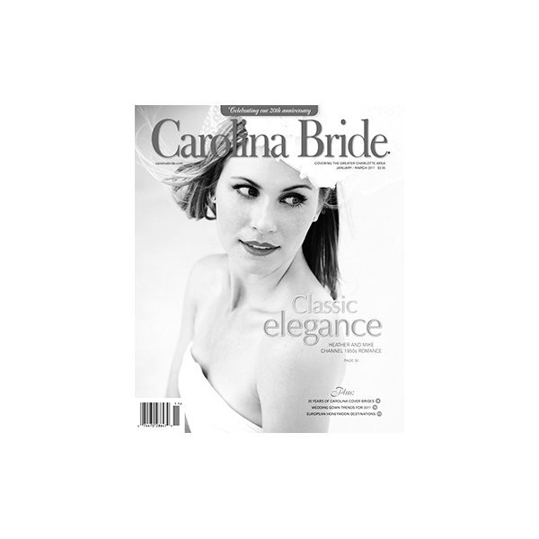 featured in carolina bride magazine 1