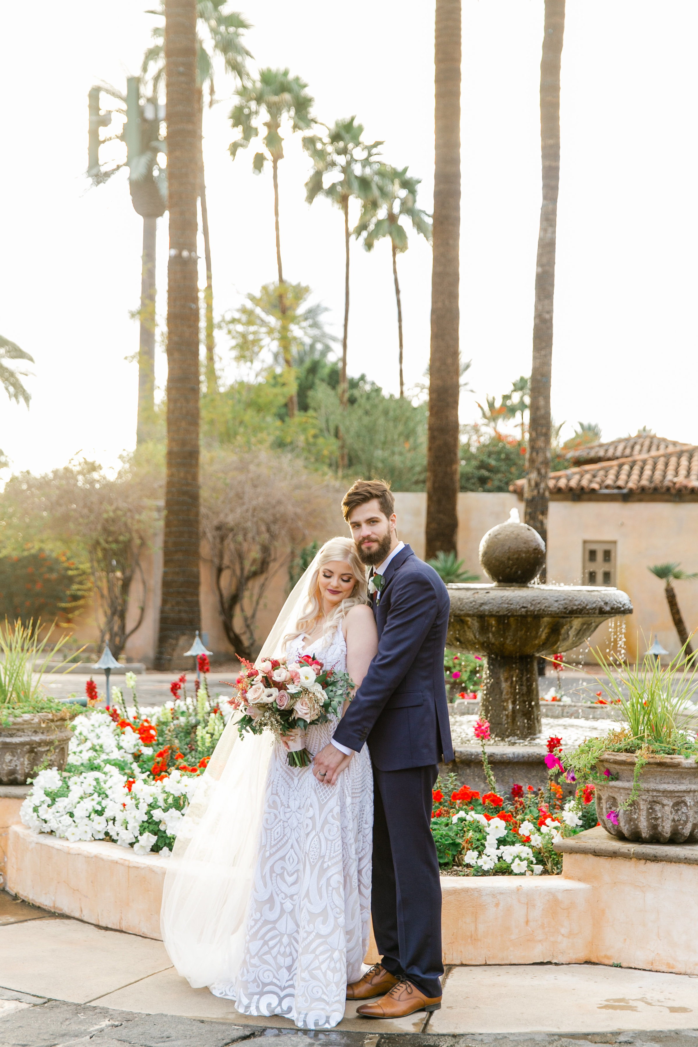 Karlie Colleen Photography - The Royal Palms Wedding - Some Like It Classic - Alex & Sam-540