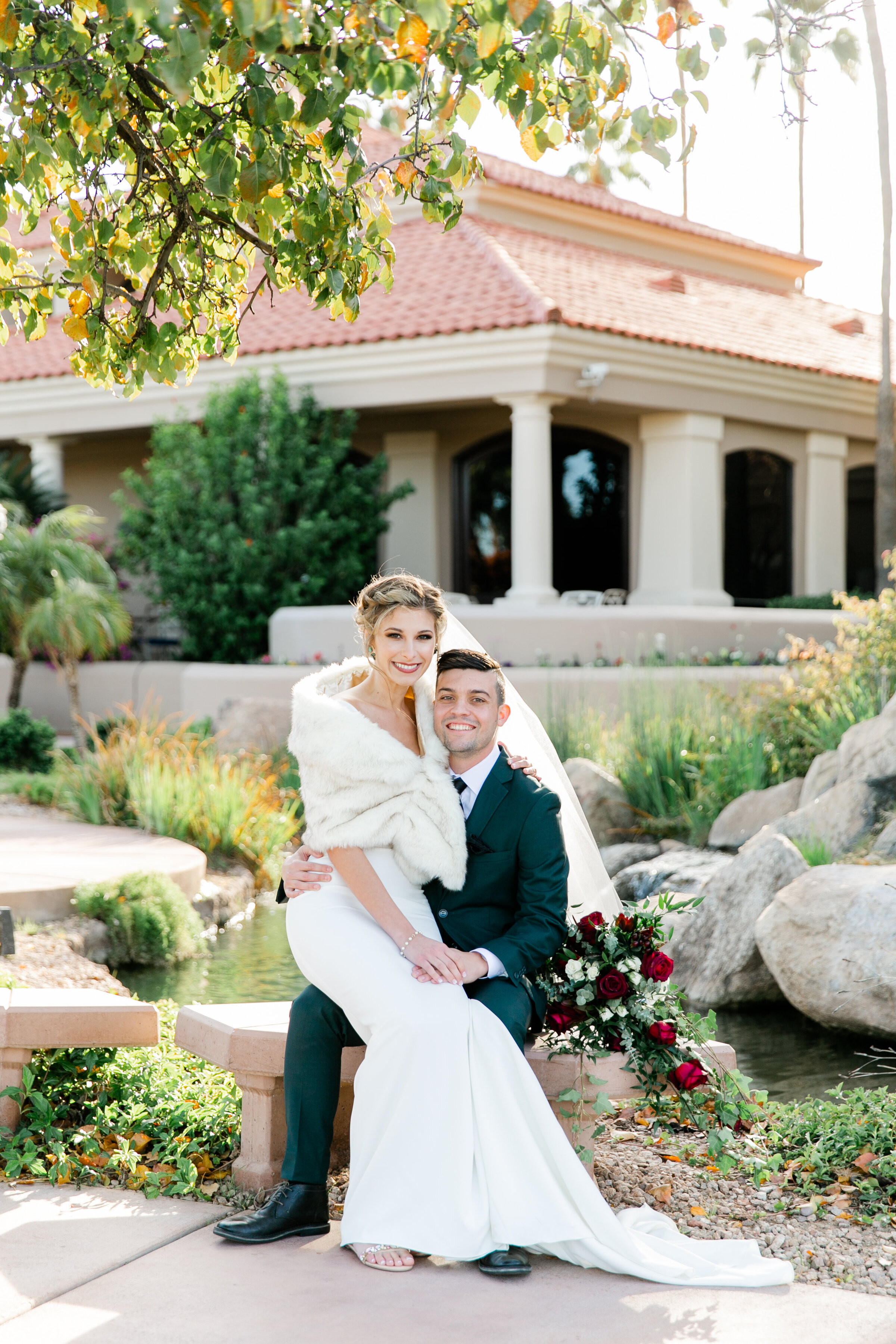 Karlie Colleen Photography - Gilbert Arizona Wedding - Val Vista Lakes - Brynne & Josh-443