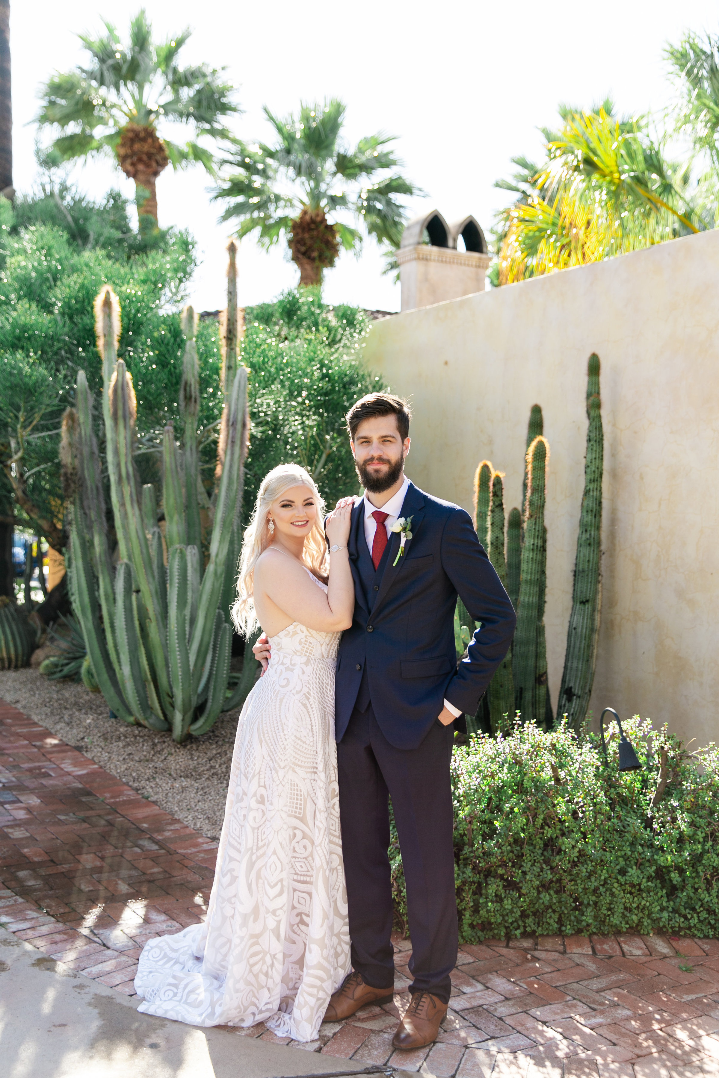 Karlie Colleen Photography - The Royal Palms Wedding - Some Like It Classic - Alex & Sam-145