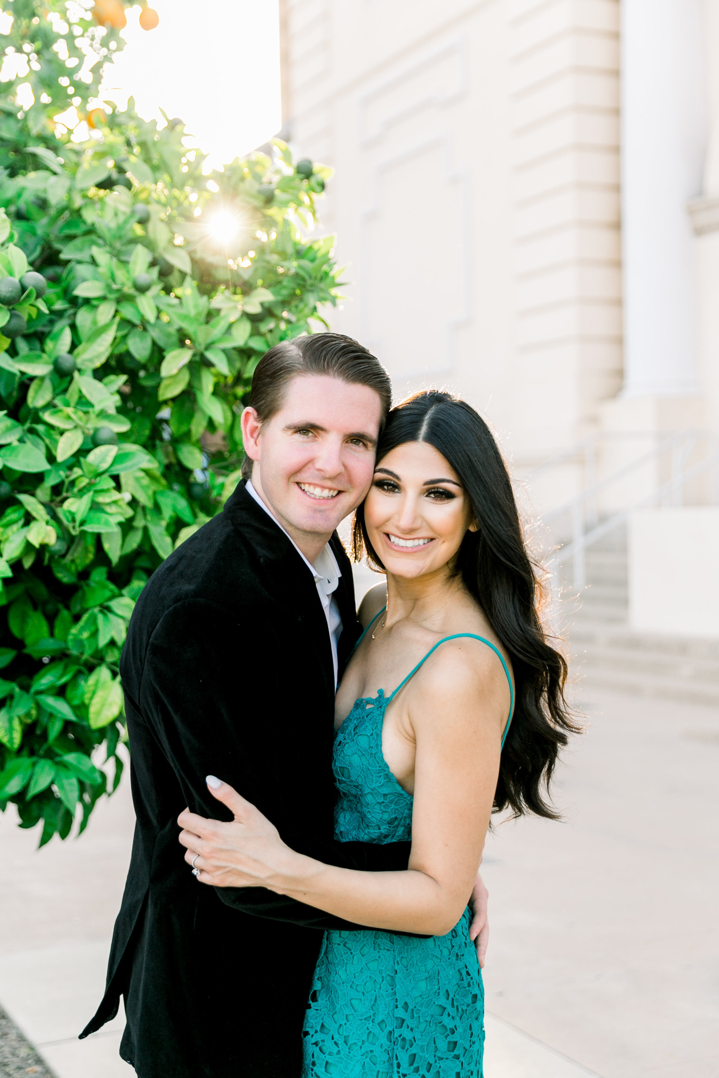 Karlie Colleen Photography - Arizona Engagement City Shoot - Kim & Tim-178