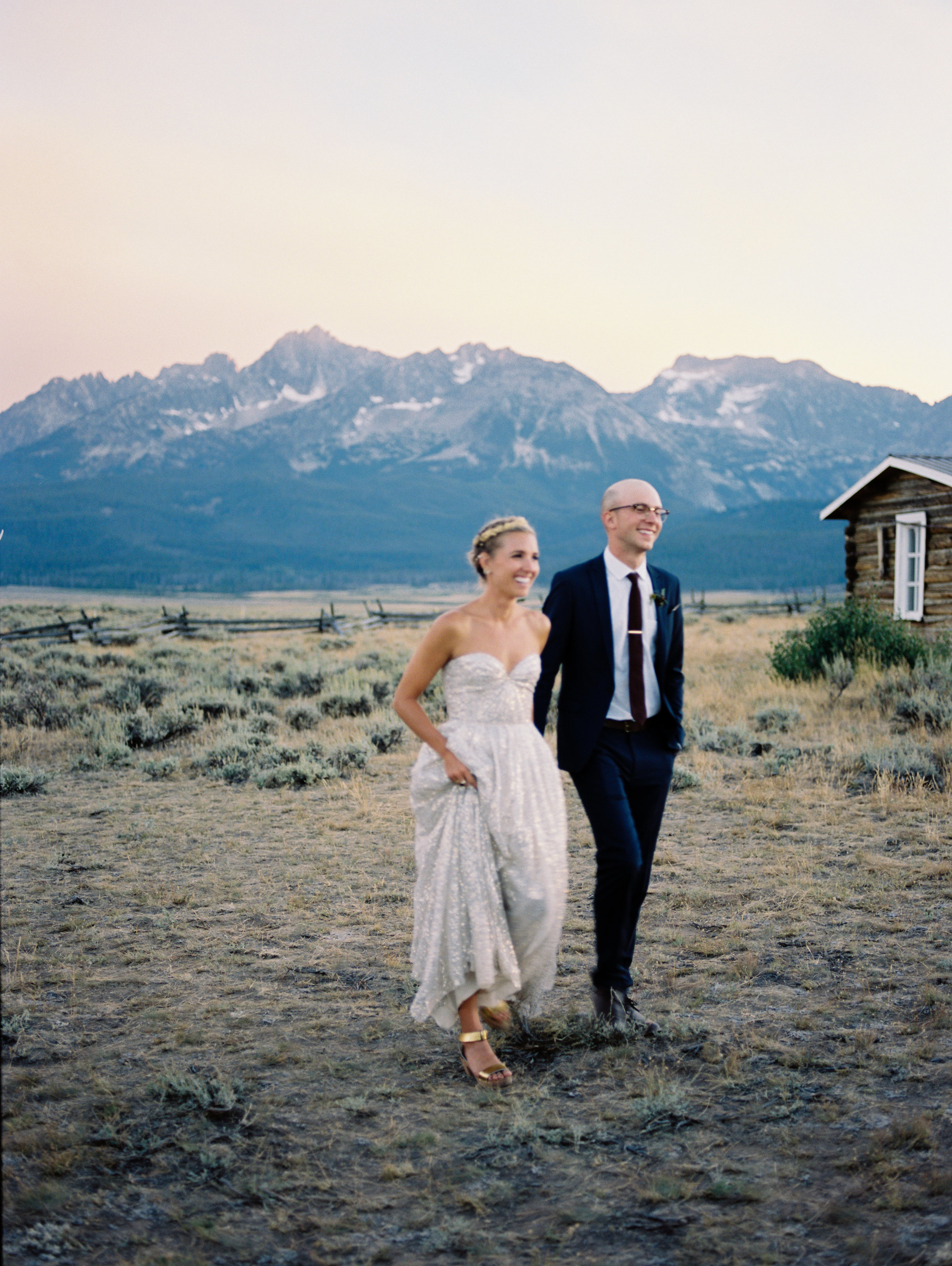 Olive and Alex Wedding_Stanley Idaho 511