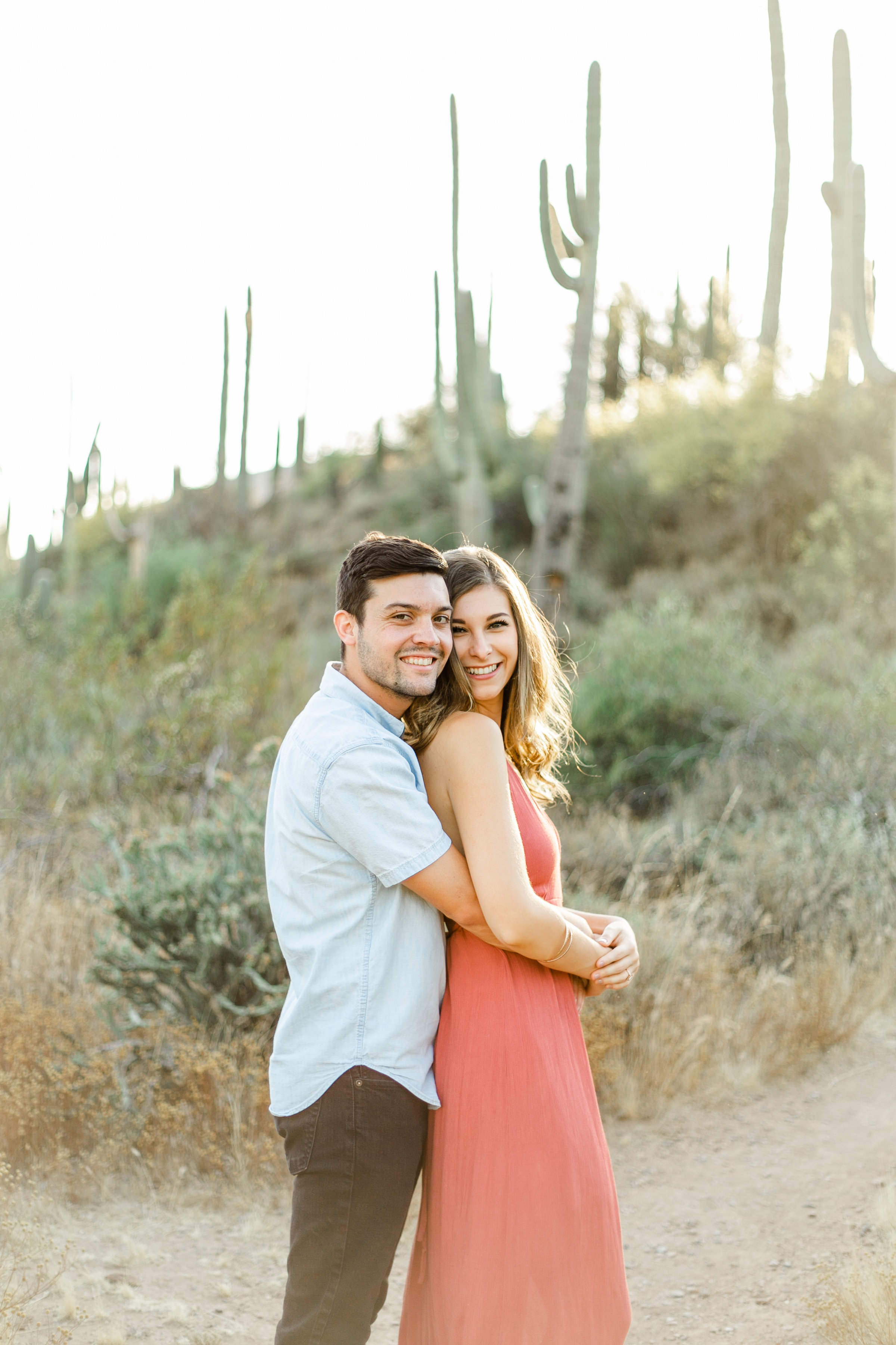 Karlie Colleen Photography - Arizona Desert Engagement - Brynne & Josh -100