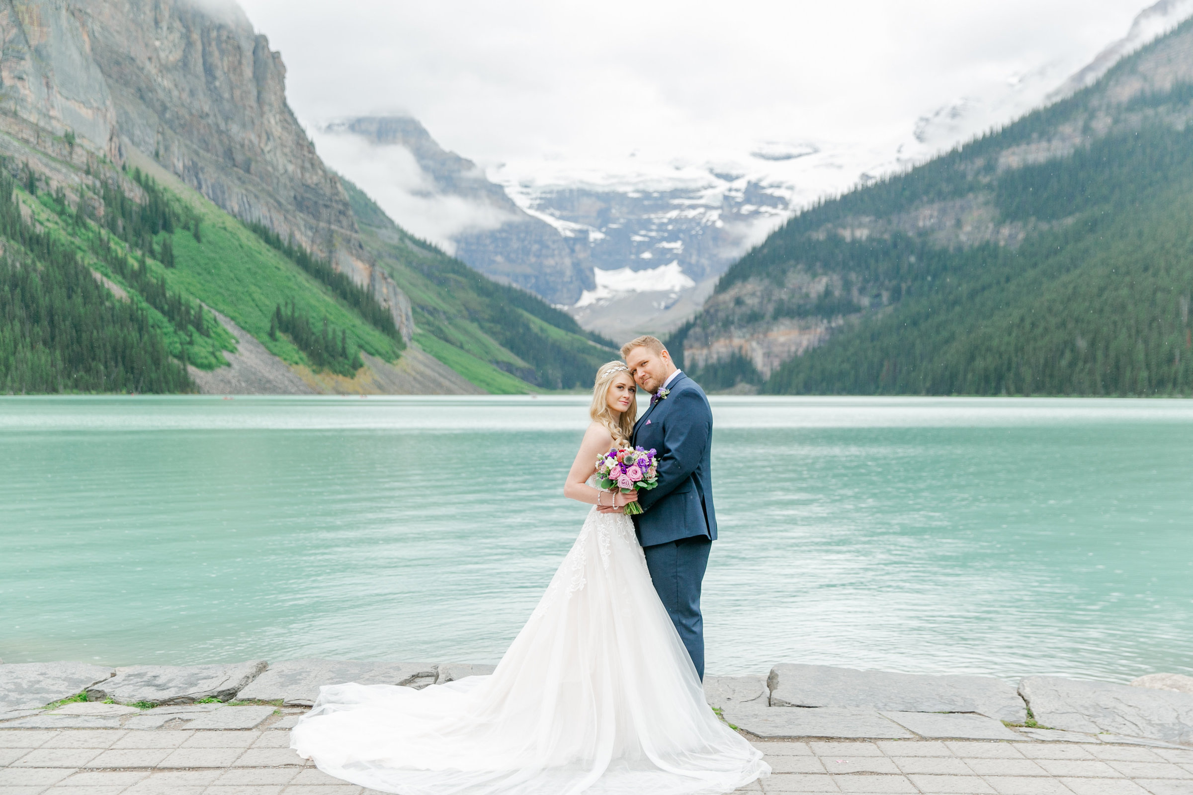 Karlie Colleen Photography - Fairmont Chateau Lake Louise Wedding - Banff Canada - Sara & Drew Forsberg-506