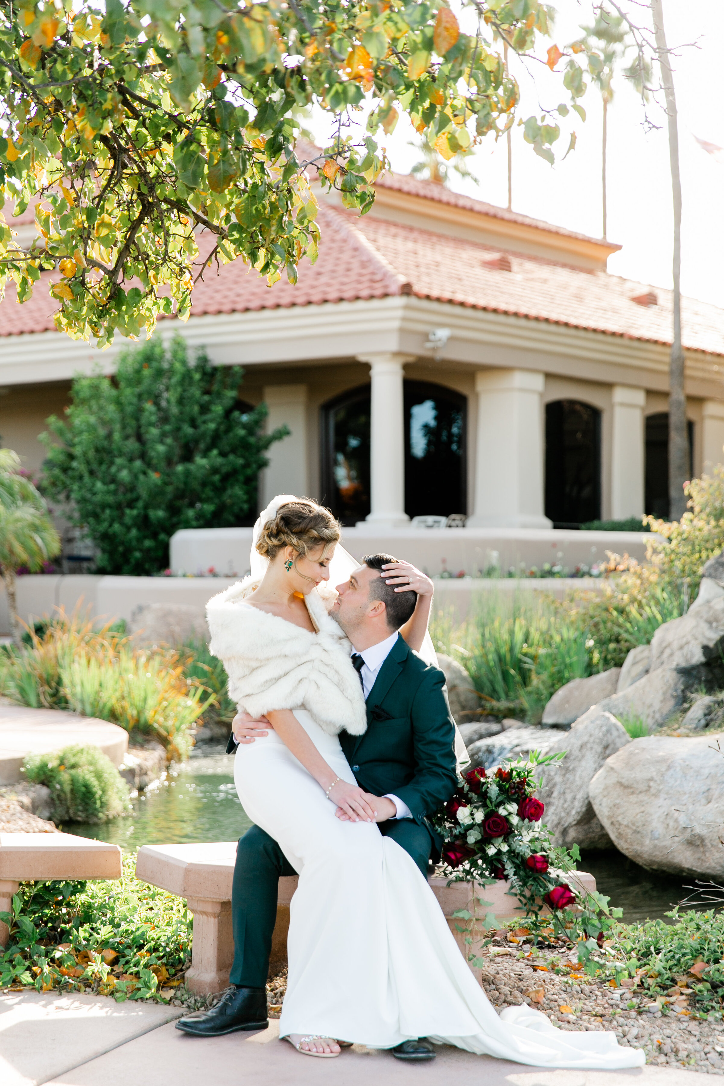 Karlie Colleen Photography - Gilbert Arizona Wedding - Val Vista Lakes - Brynne & Josh-447