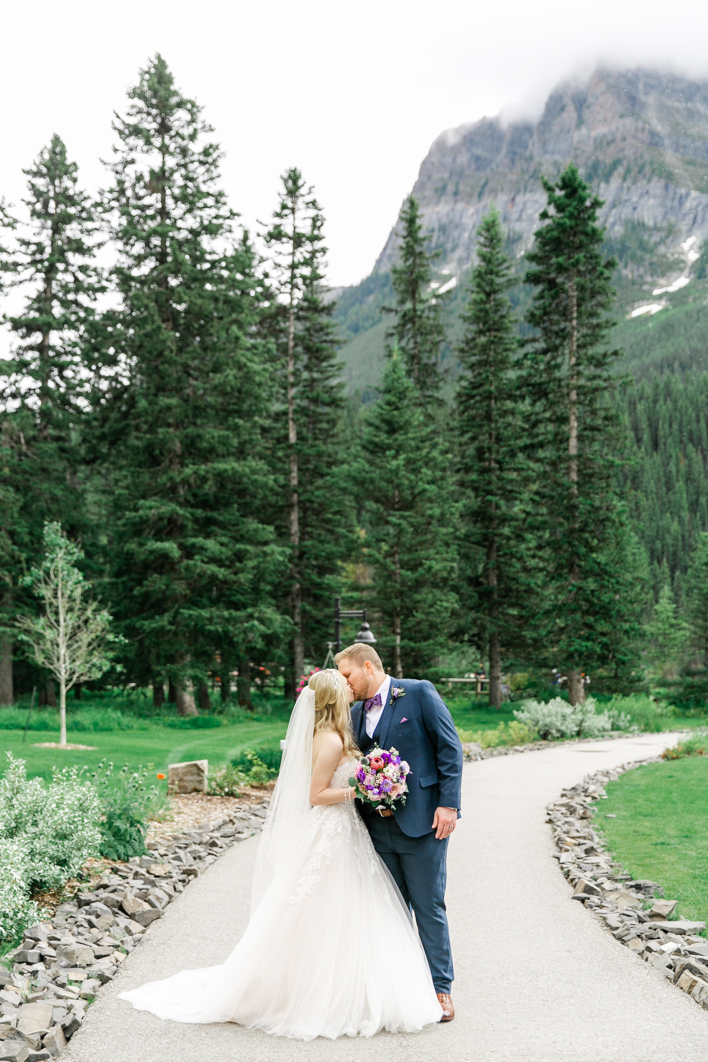 Karlie Colleen Photography - Fairmont Chateau Lake Louise Wedding - Banff Canada - Sara & Drew Forsberg-986