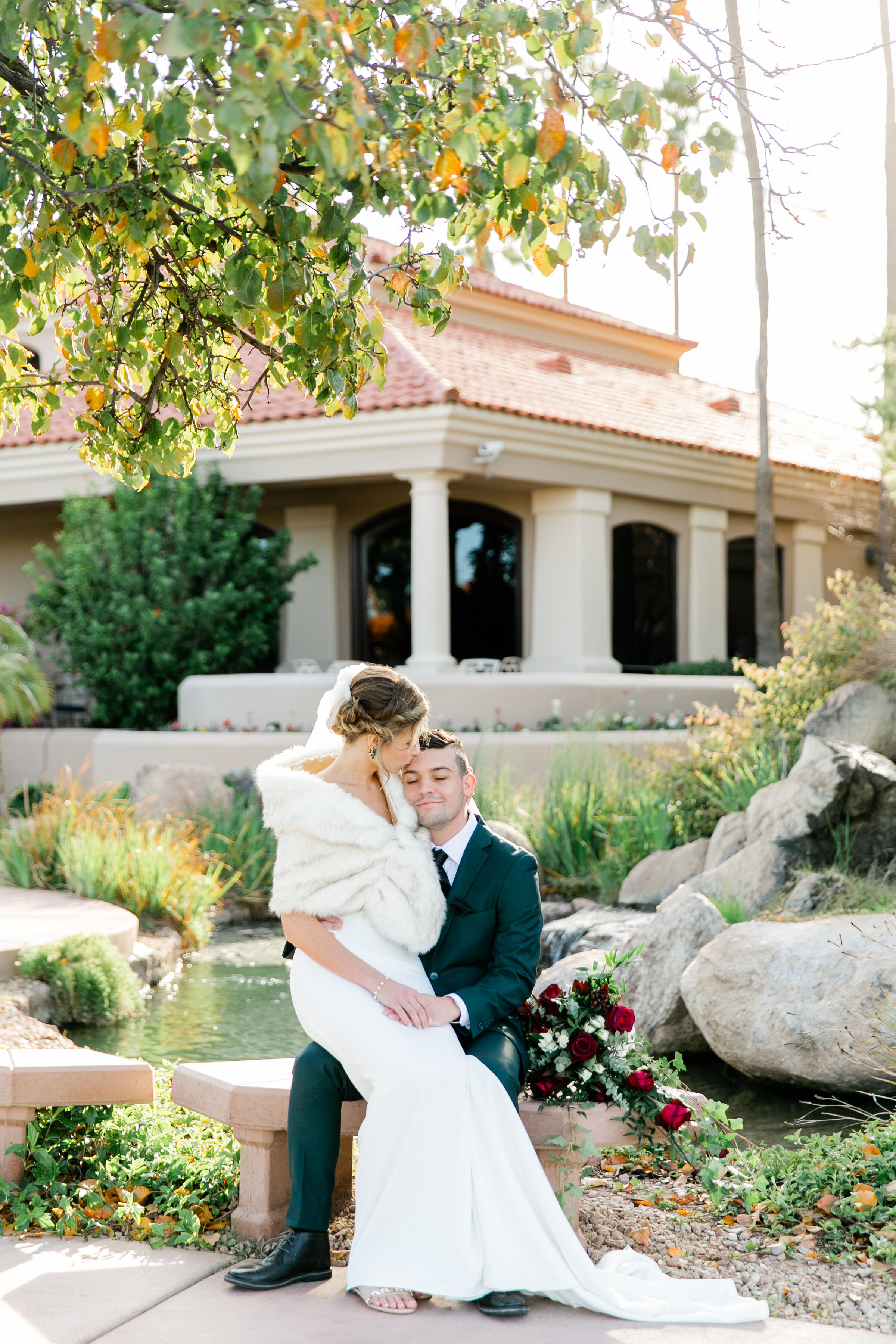 Karlie Colleen Photography - Gilbert Arizona Wedding - Val Vista Lakes - Brynne & Josh-460