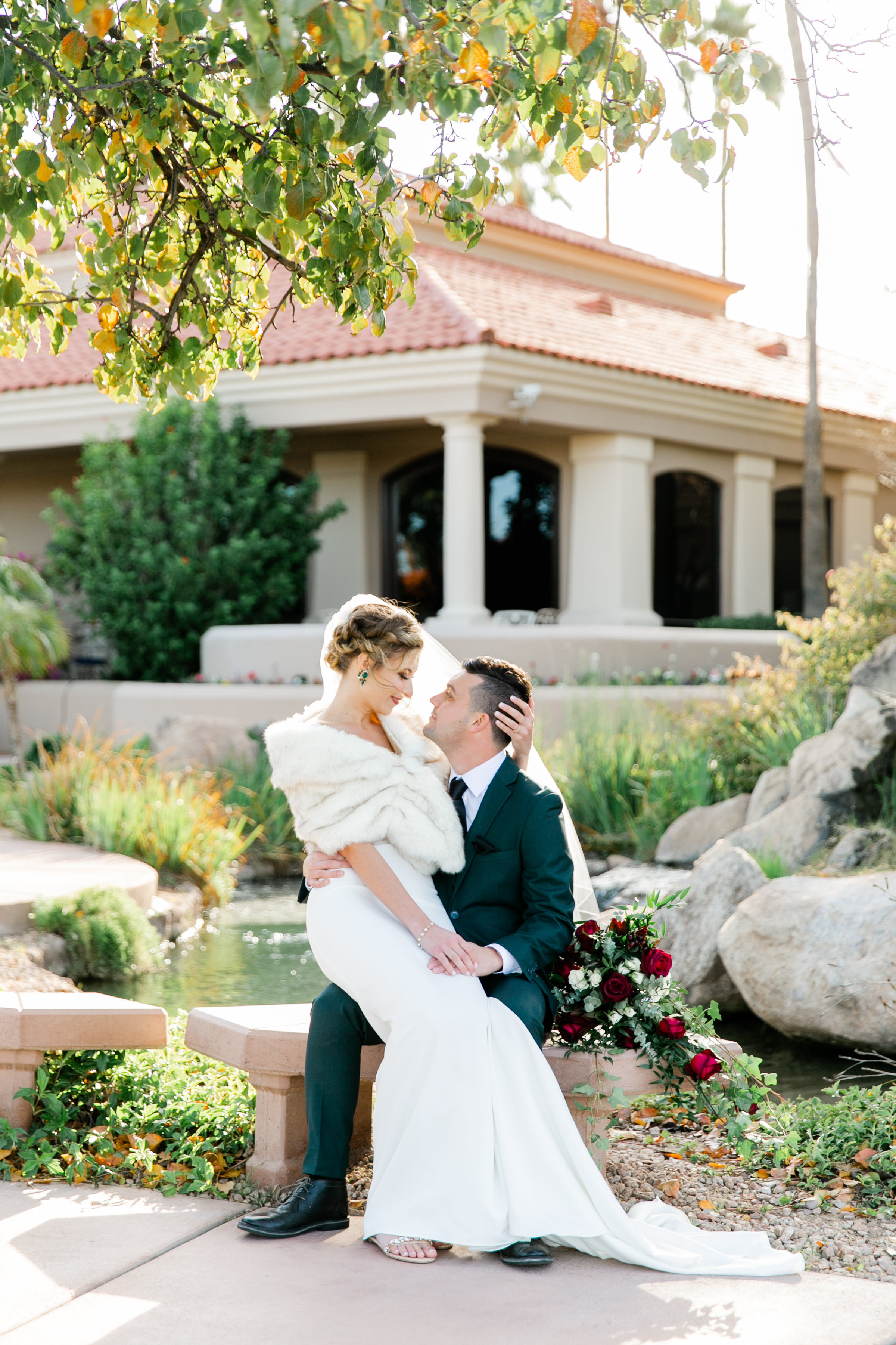 Karlie Colleen Photography - Gilbert Arizona Wedding - Val Vista Lakes - Brynne & Josh-453