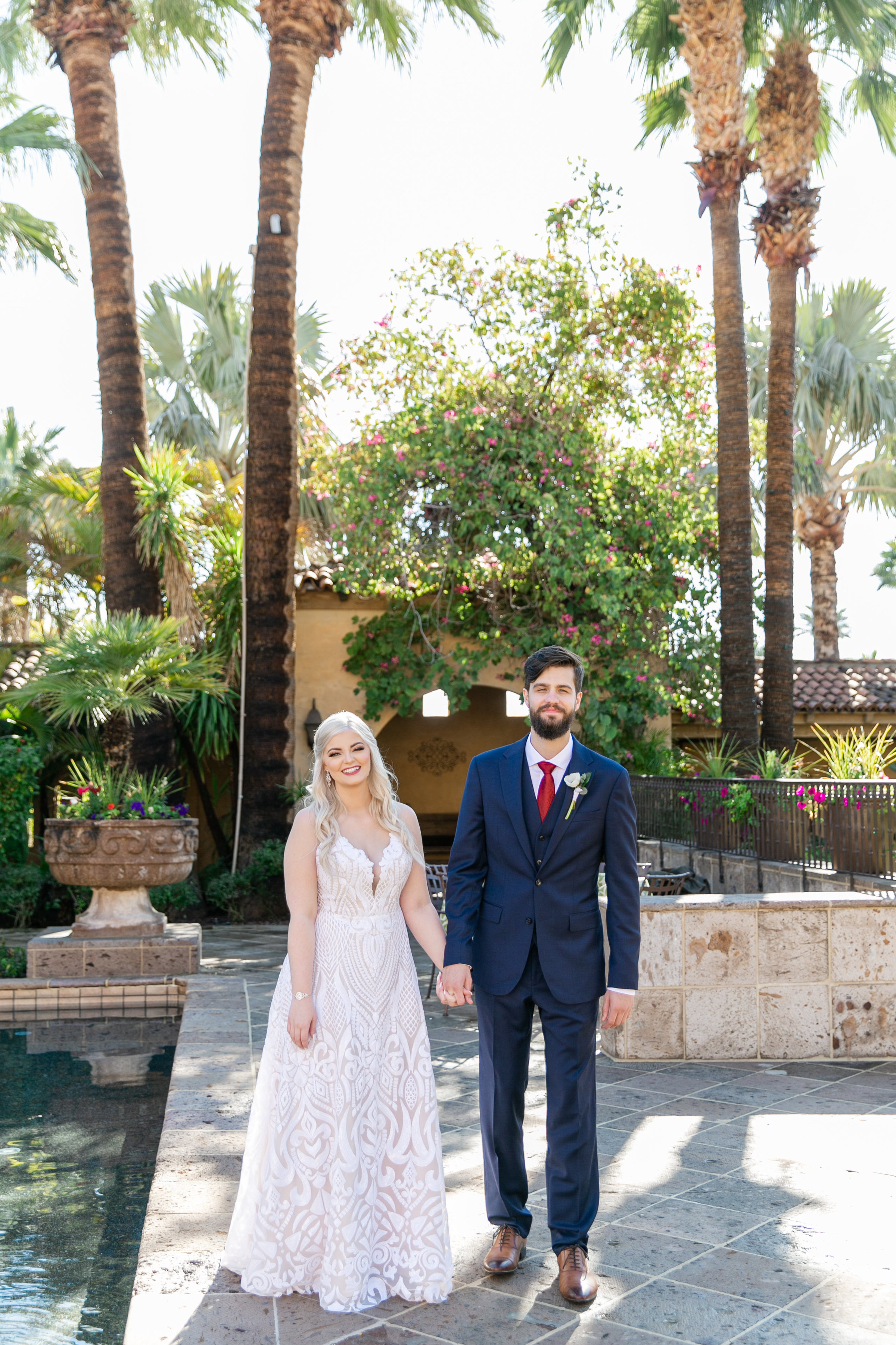 Karlie Colleen Photography - The Royal Palms Wedding - Some Like It Classic - Alex & Sam-135