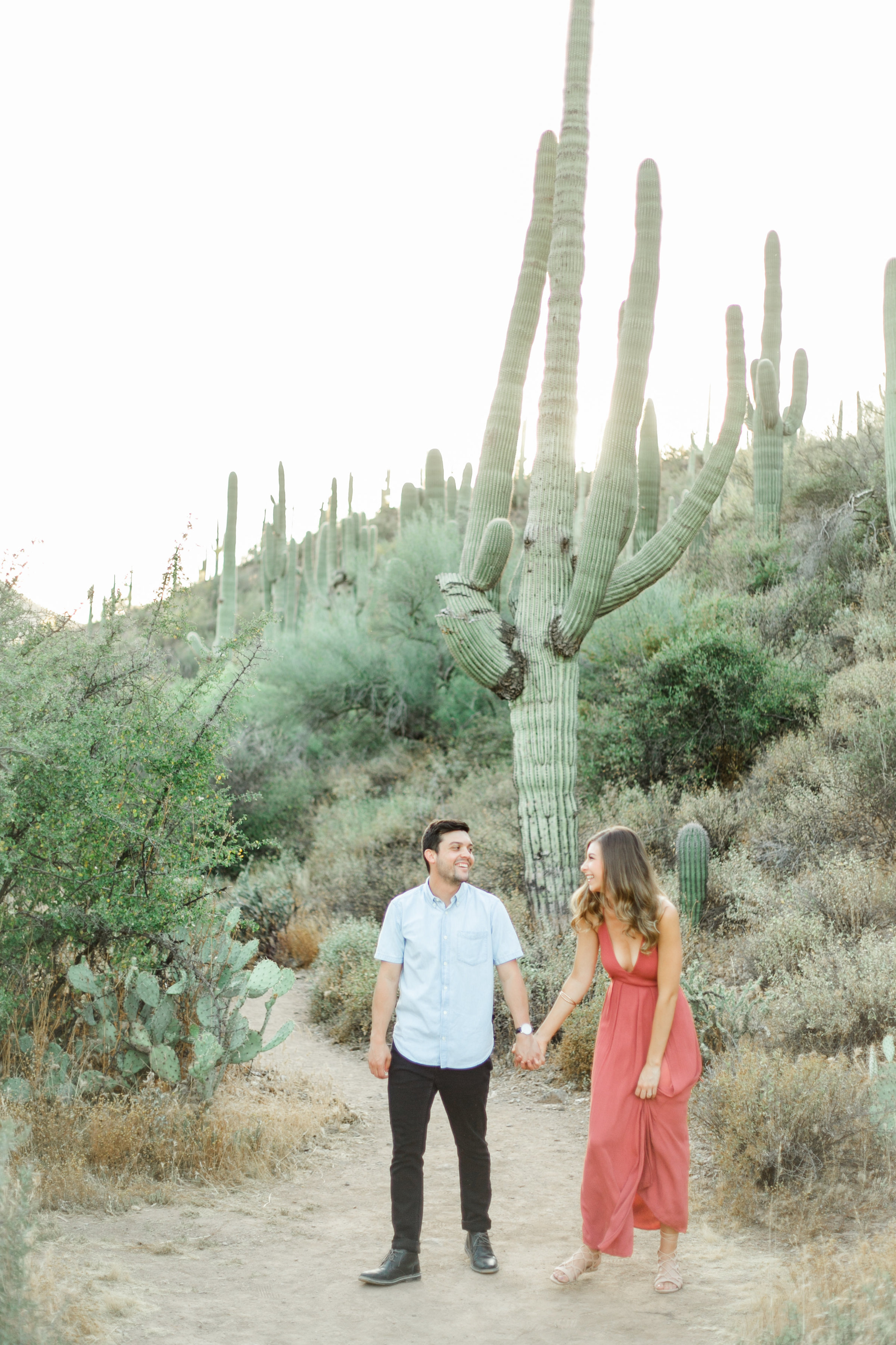 Karlie Colleen Photography - Arizona Desert Engagement - Brynne & Josh -127
