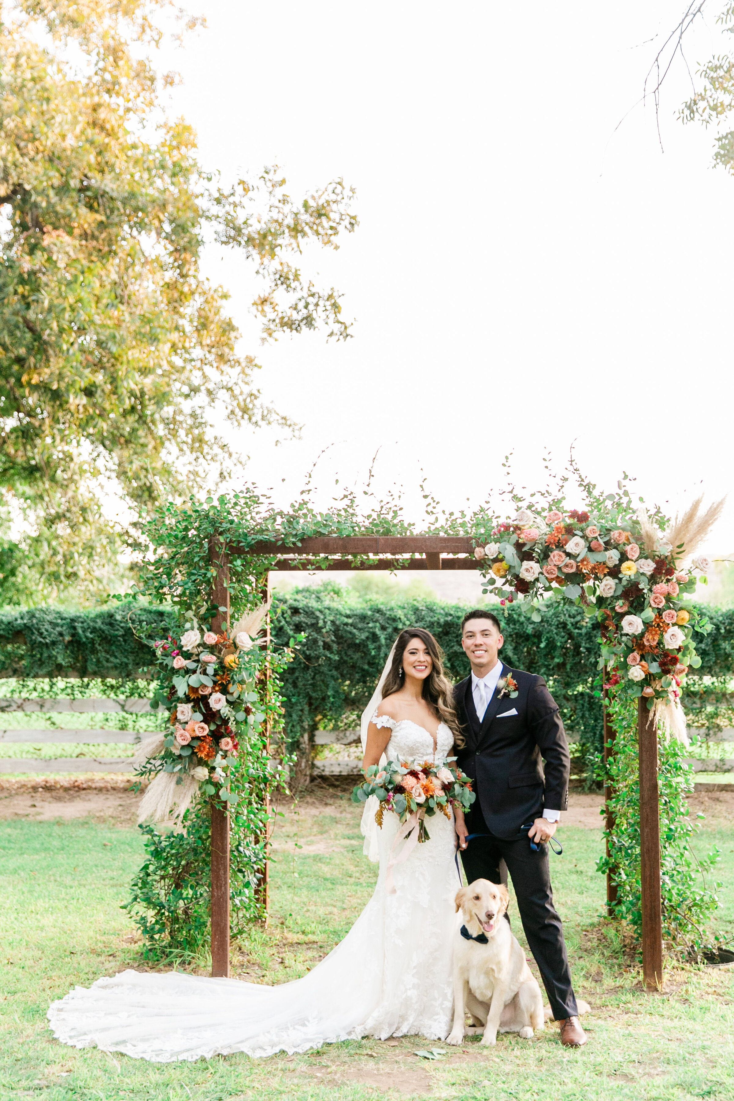 Karlie Colleen Photography - Phoenix Arizona - Farm At South Mountain Venue - Vanessa & Robert-693