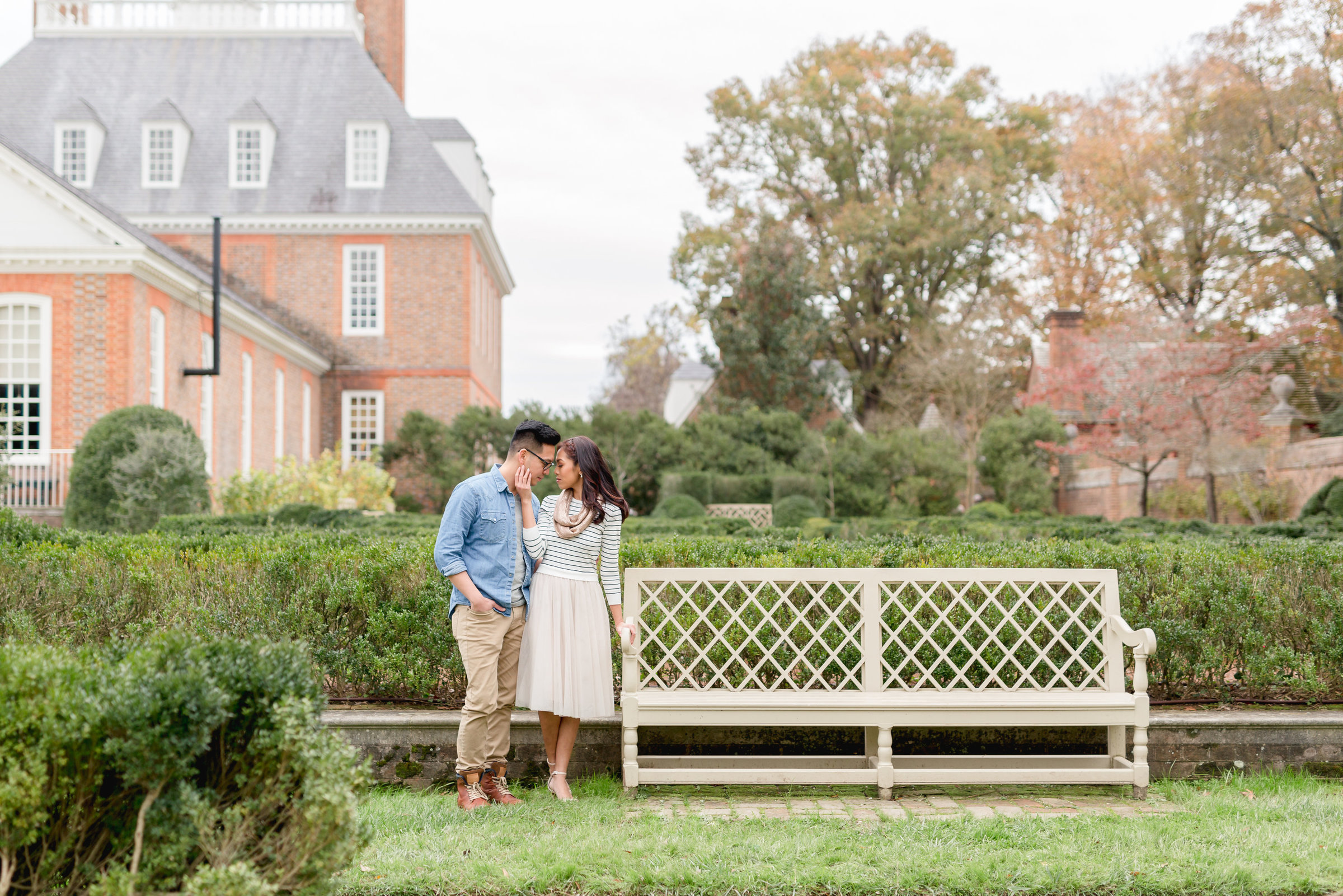colonial williamsburg engagement session-1