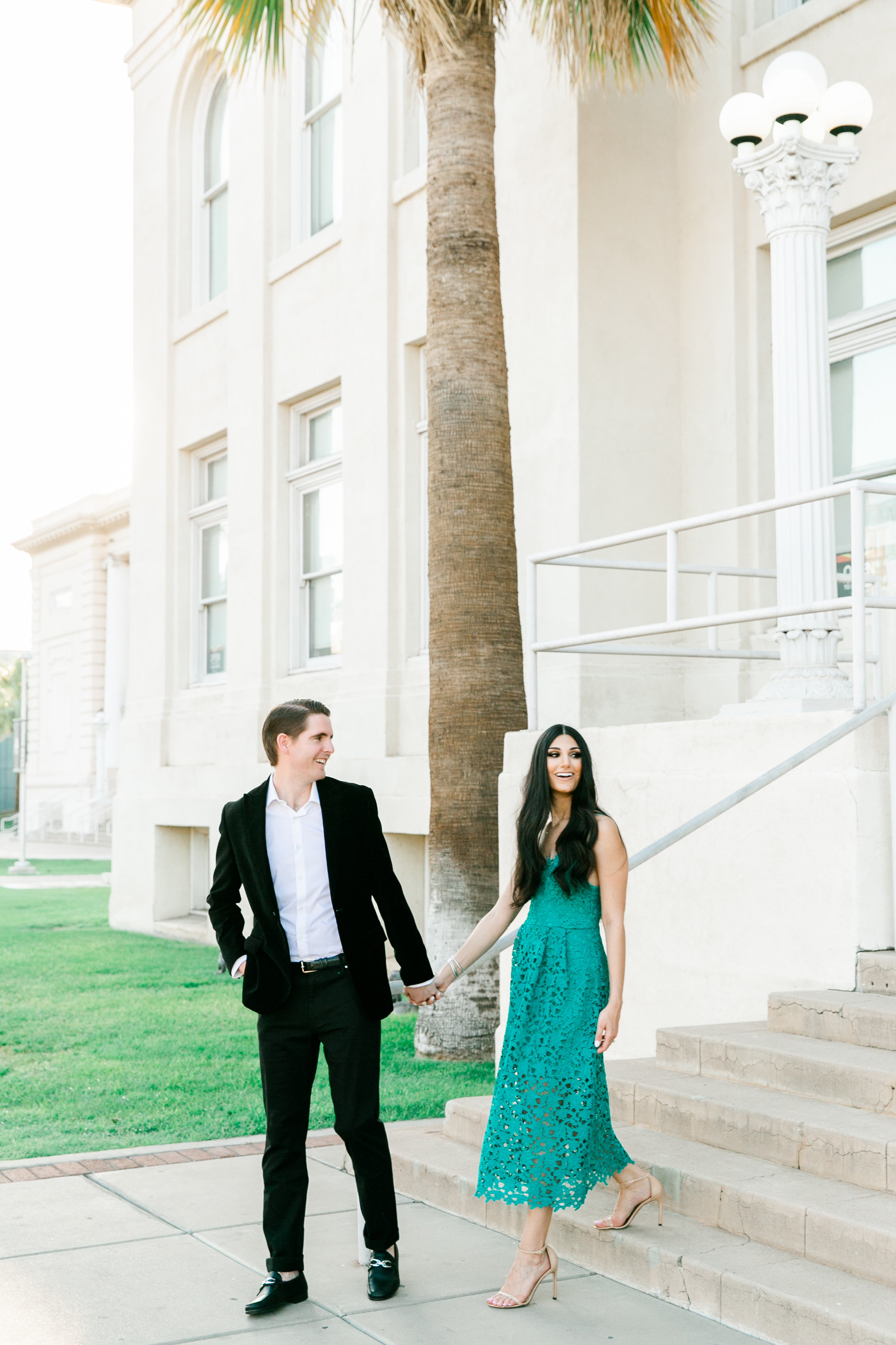 Karlie Colleen Photography - Arizona Engagement City Shoot - Kim & Tim-139