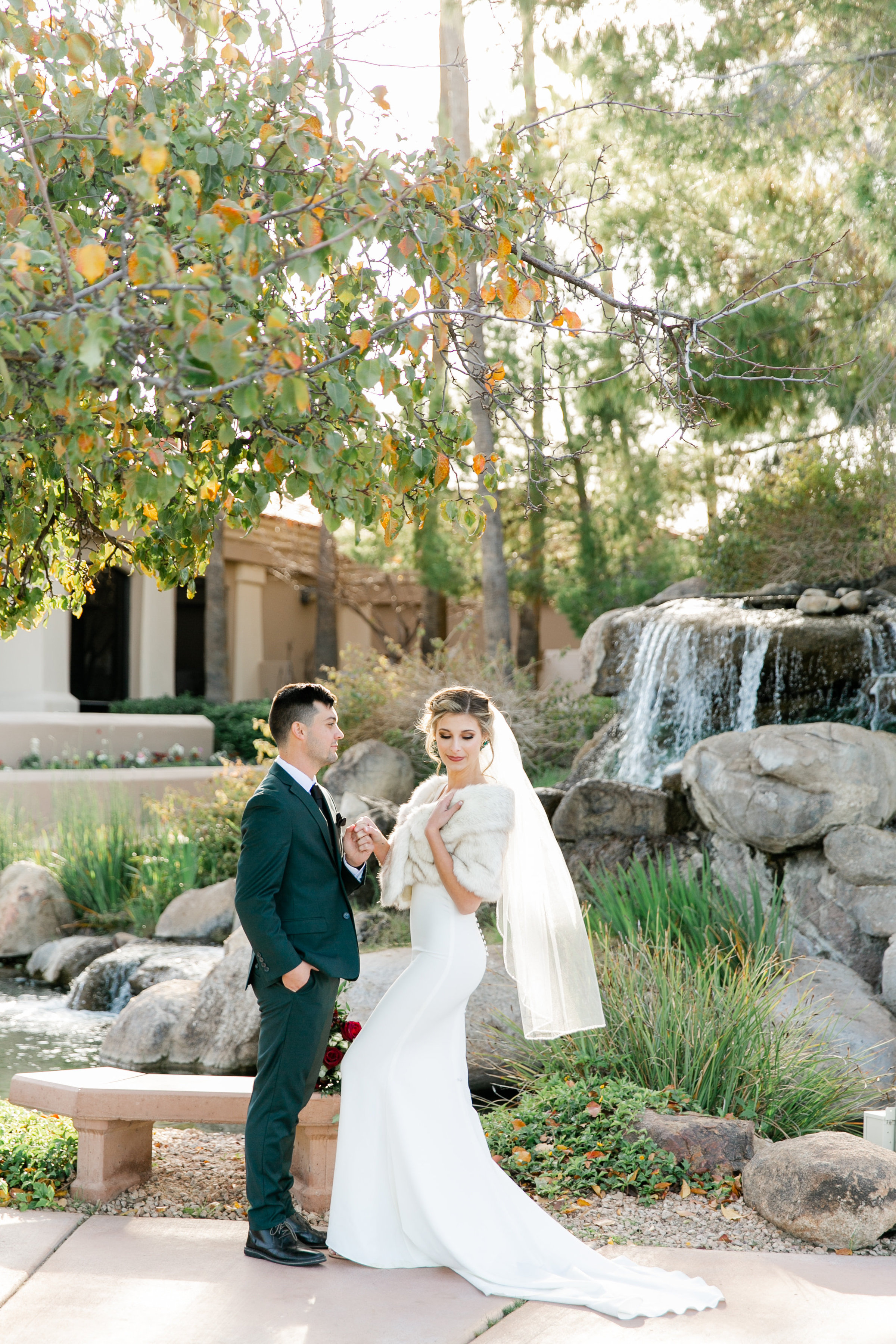 Karlie Colleen Photography - Gilbert Wedding - Val Vista Lakes - Brynne & Josh-36