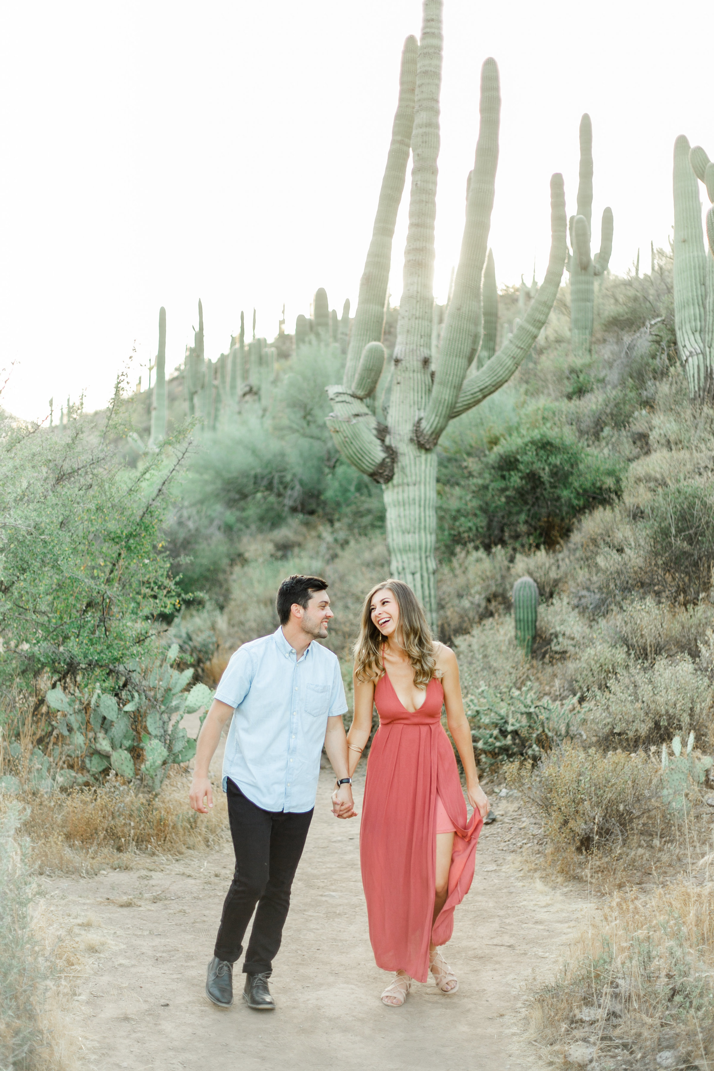Karlie Colleen Photography - Arizona Desert Engagement - Brynne & Josh -128