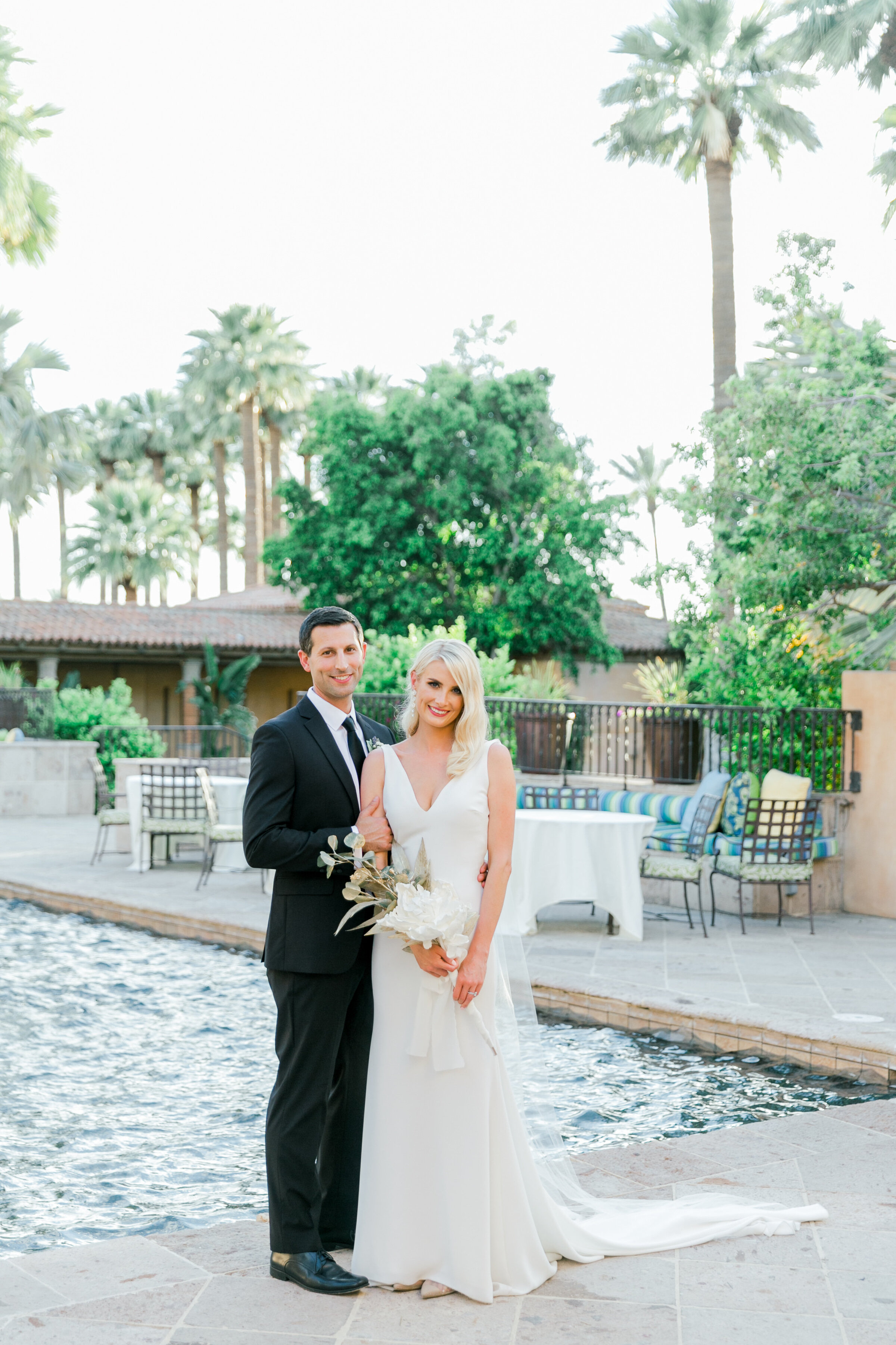 Karlie Colleen Photography - Arizona Wedding - Royal Palms Resort- Alex & Alex-149
