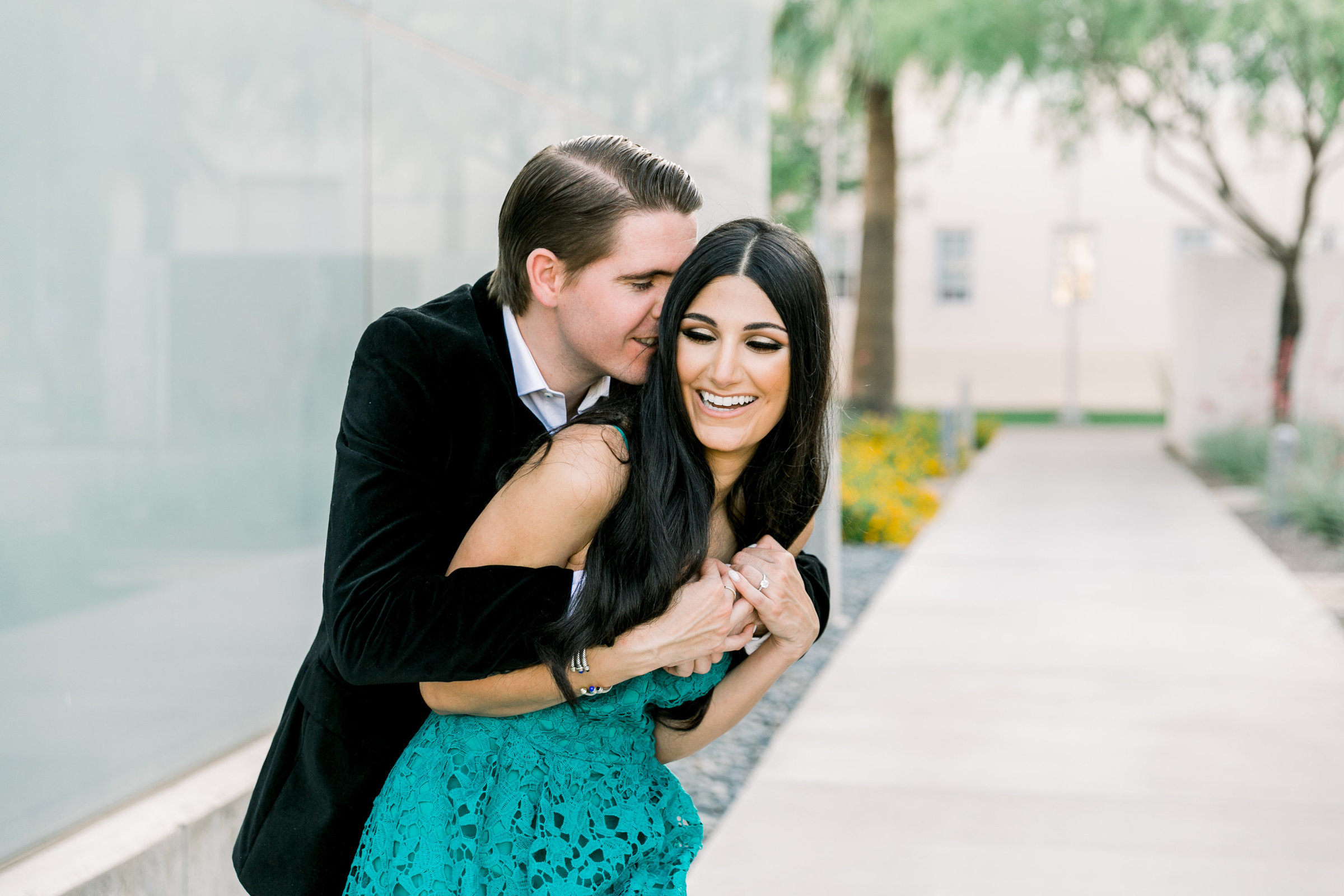 Karlie Colleen Photography - Arizona Engagement City Shoot - Kim & Tim-113