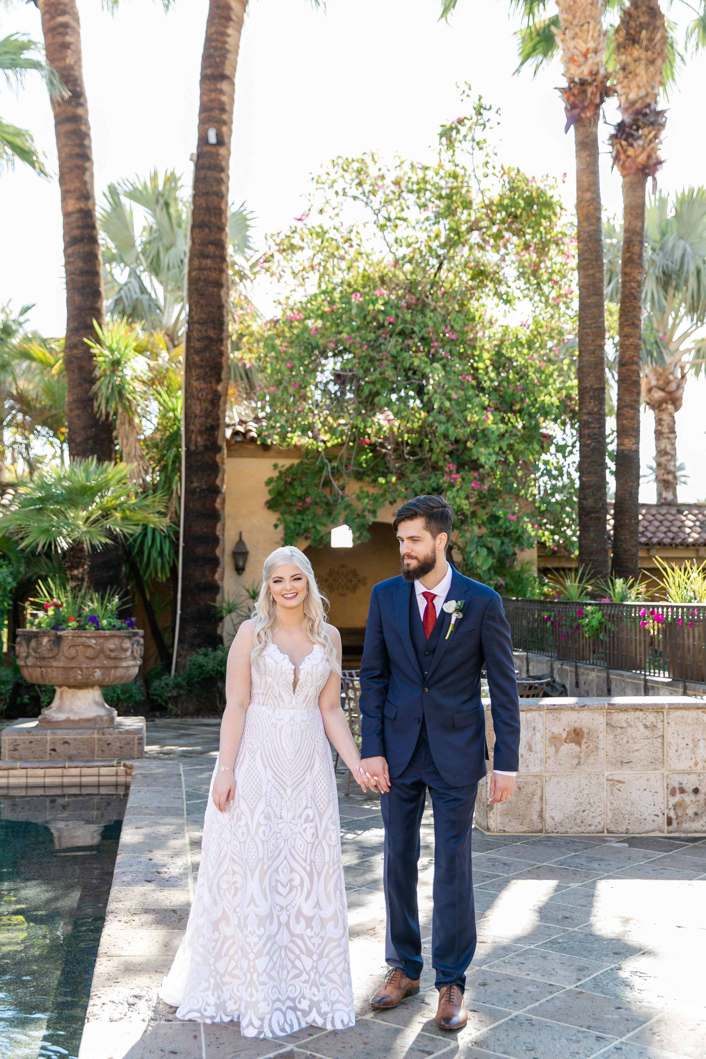 Karlie Colleen Photography - The Royal Palms Wedding - Some Like It Classic - Alex & Sam-134