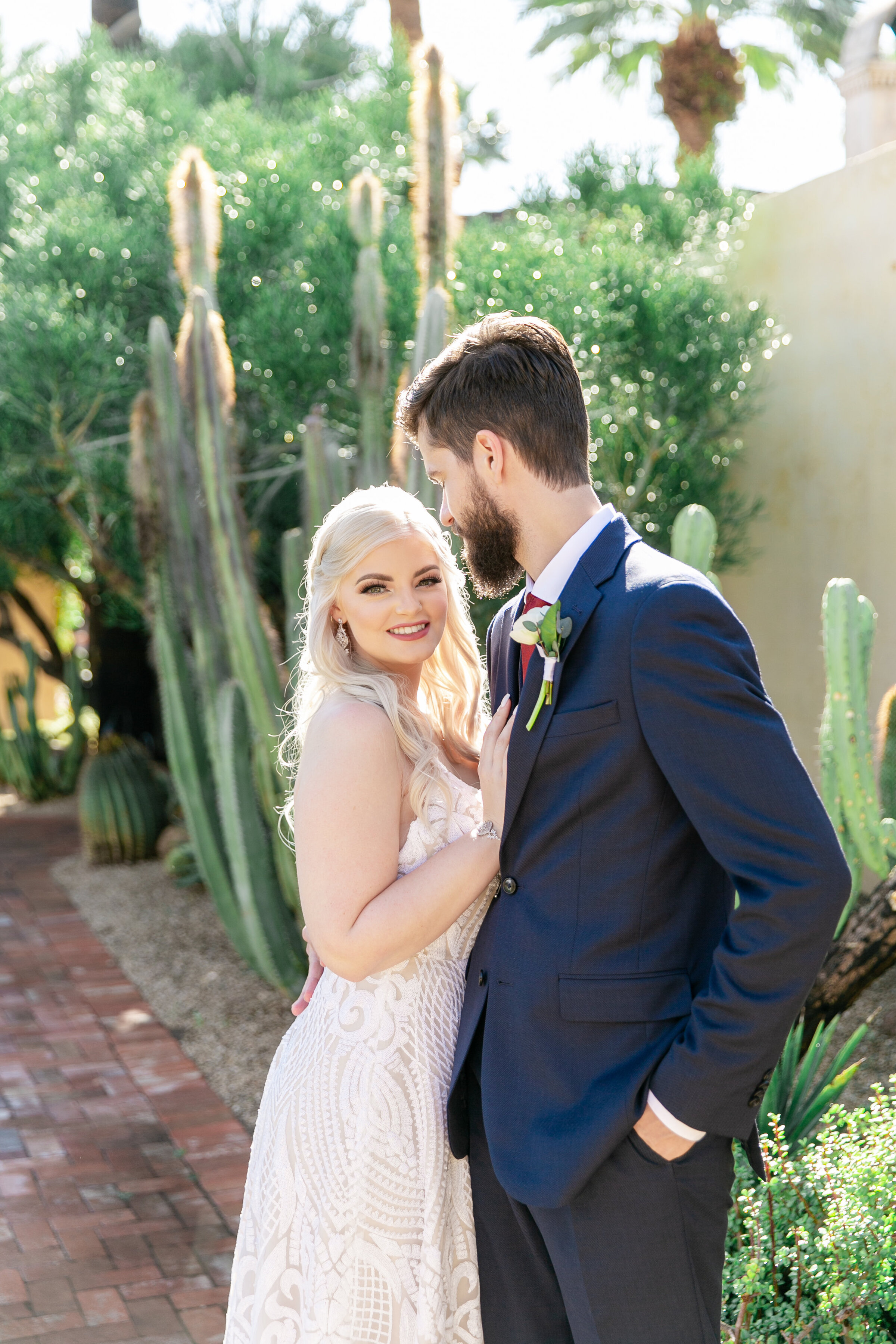 Karlie Colleen Photography - The Royal Palms Wedding - Some Like It Classic - Alex & Sam-152