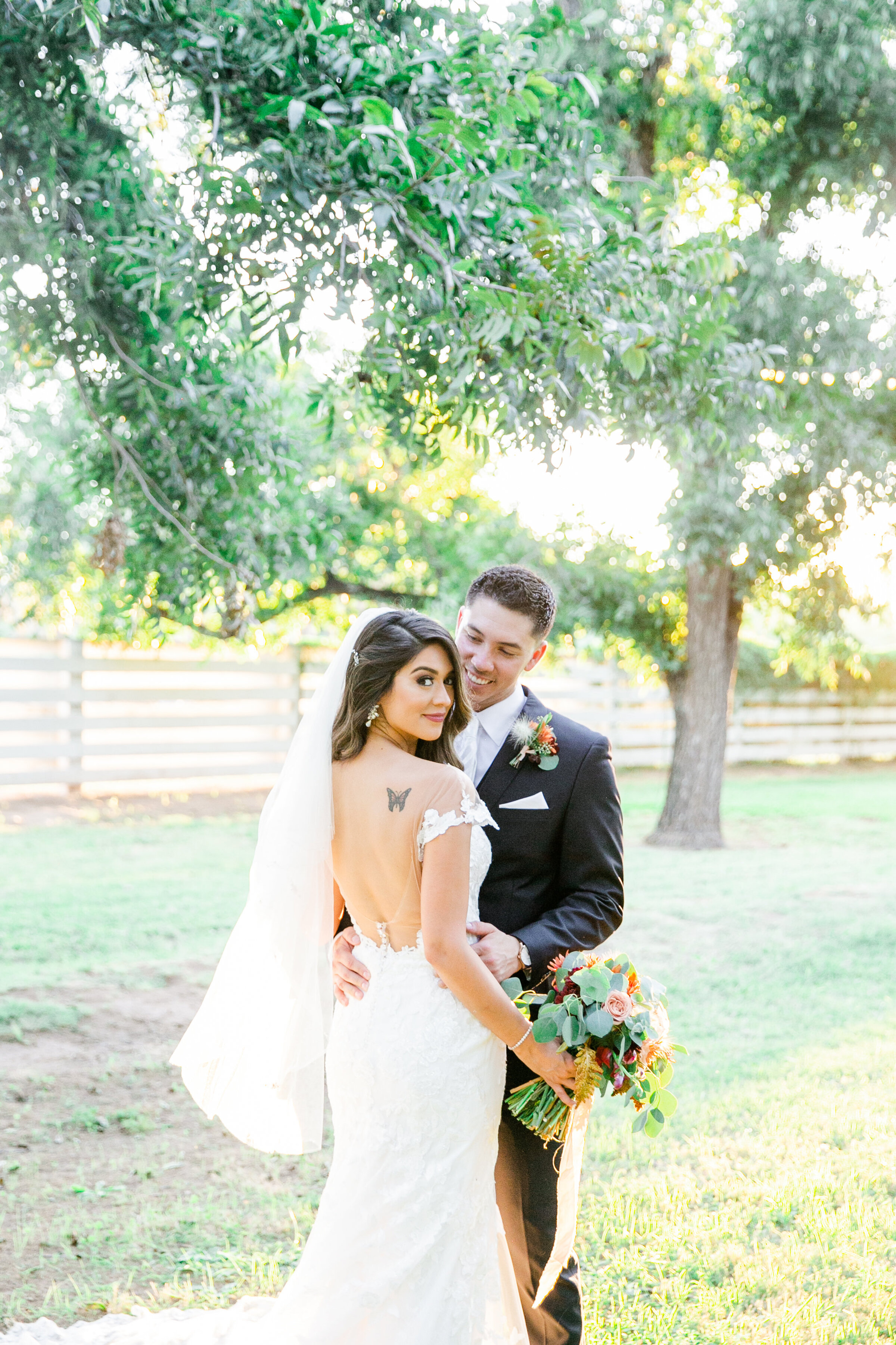 Karlie Colleen Photography - Phoenix Arizona - Farm At South Mountain Venue - Vanessa & Robert-562