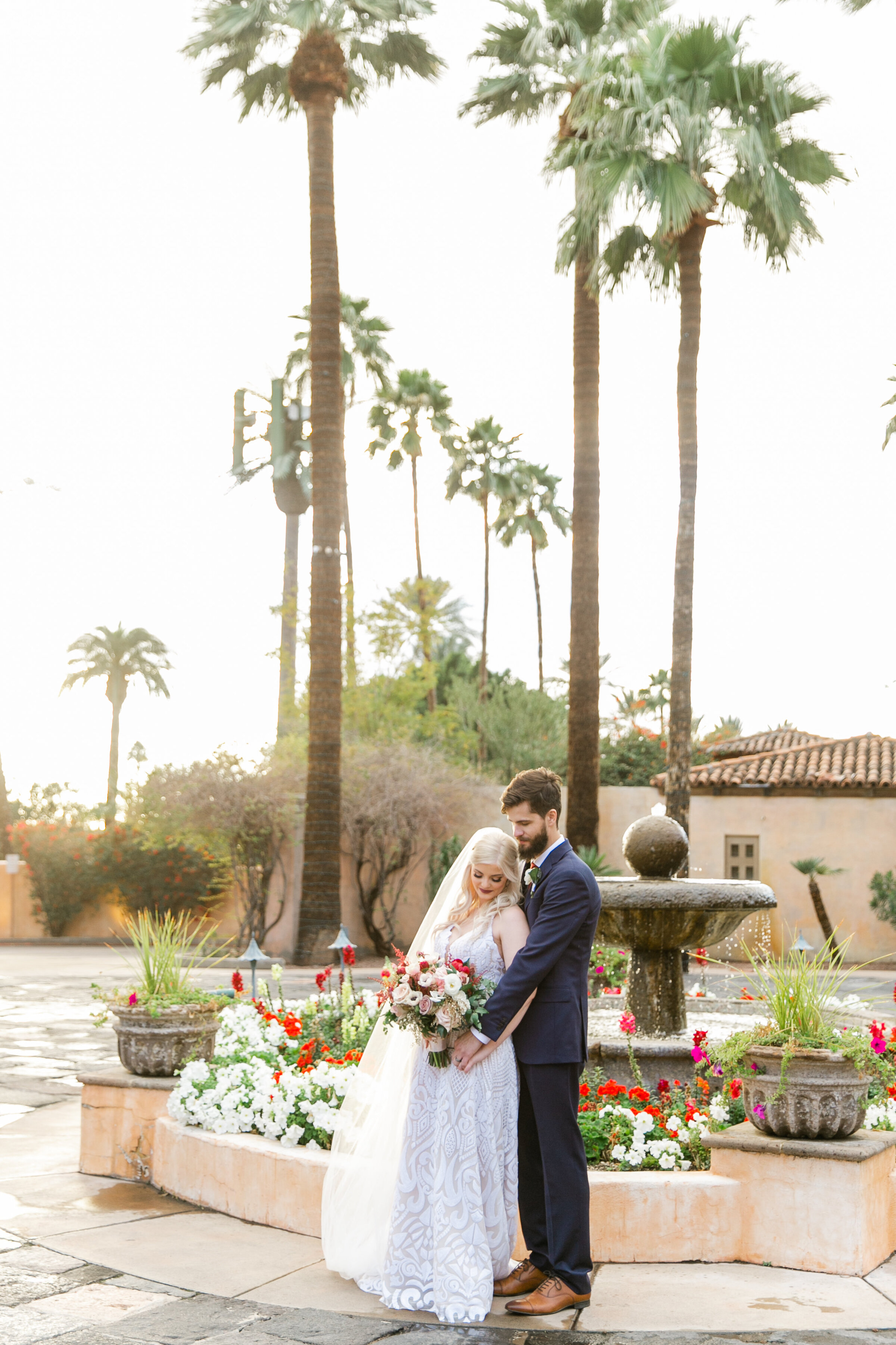 Karlie Colleen Photography - The Royal Palms Wedding - Some Like It Classic - Alex & Sam-541