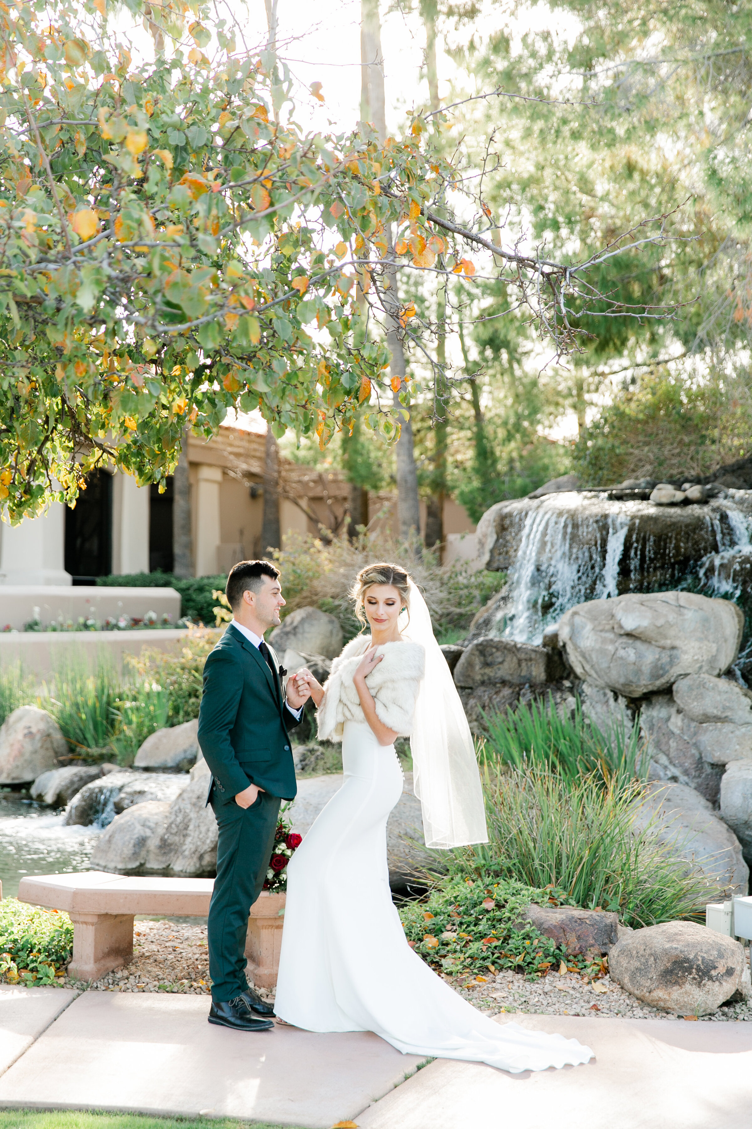 Karlie Colleen Photography - Gilbert Arizona Wedding - Val Vista Lakes - Brynne & Josh-479