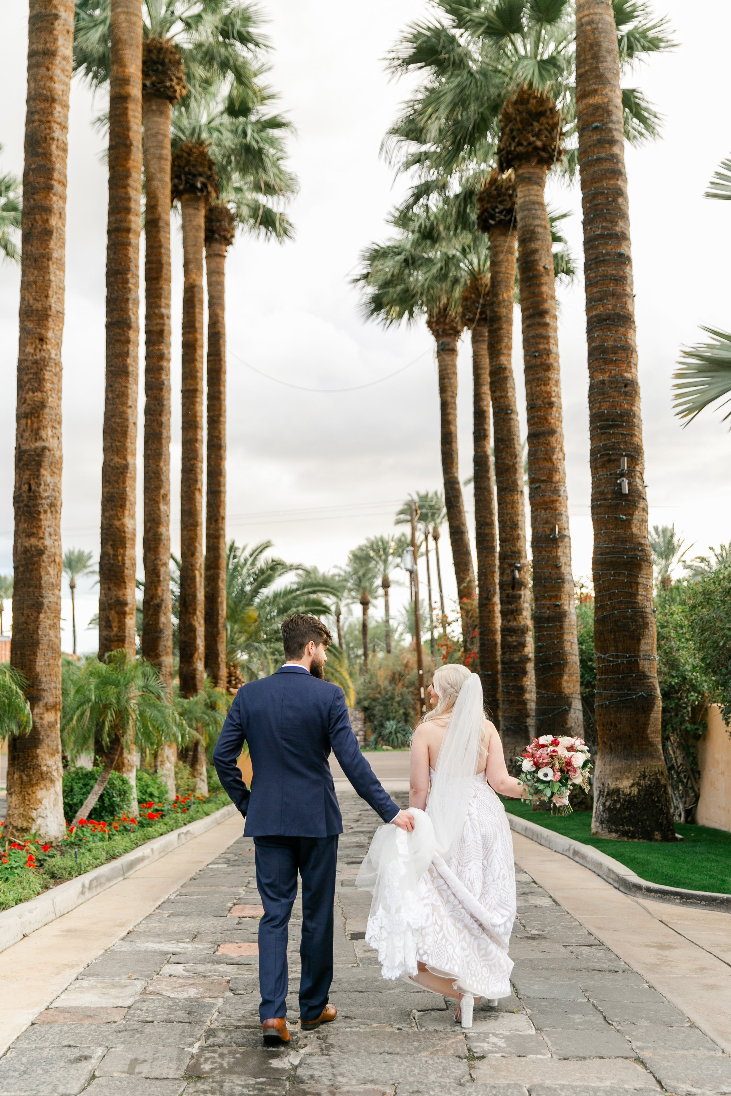 Karlie Colleen Photography - The Royal Palms Wedding - Some Like It Classic - Alex & Sam-570