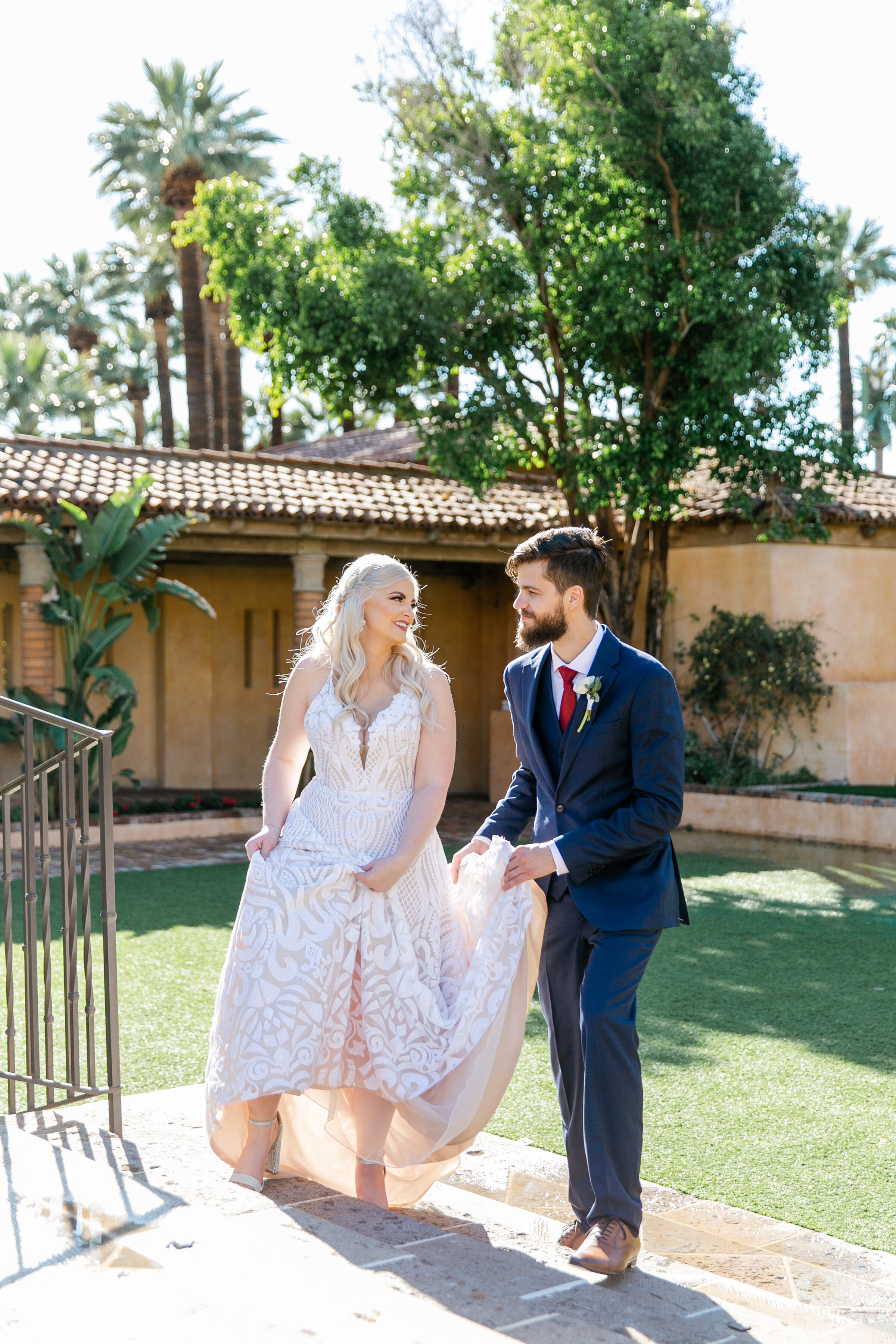 Karlie Colleen Photography - The Royal Palms Wedding - Some Like It Classic - Alex & Sam-174