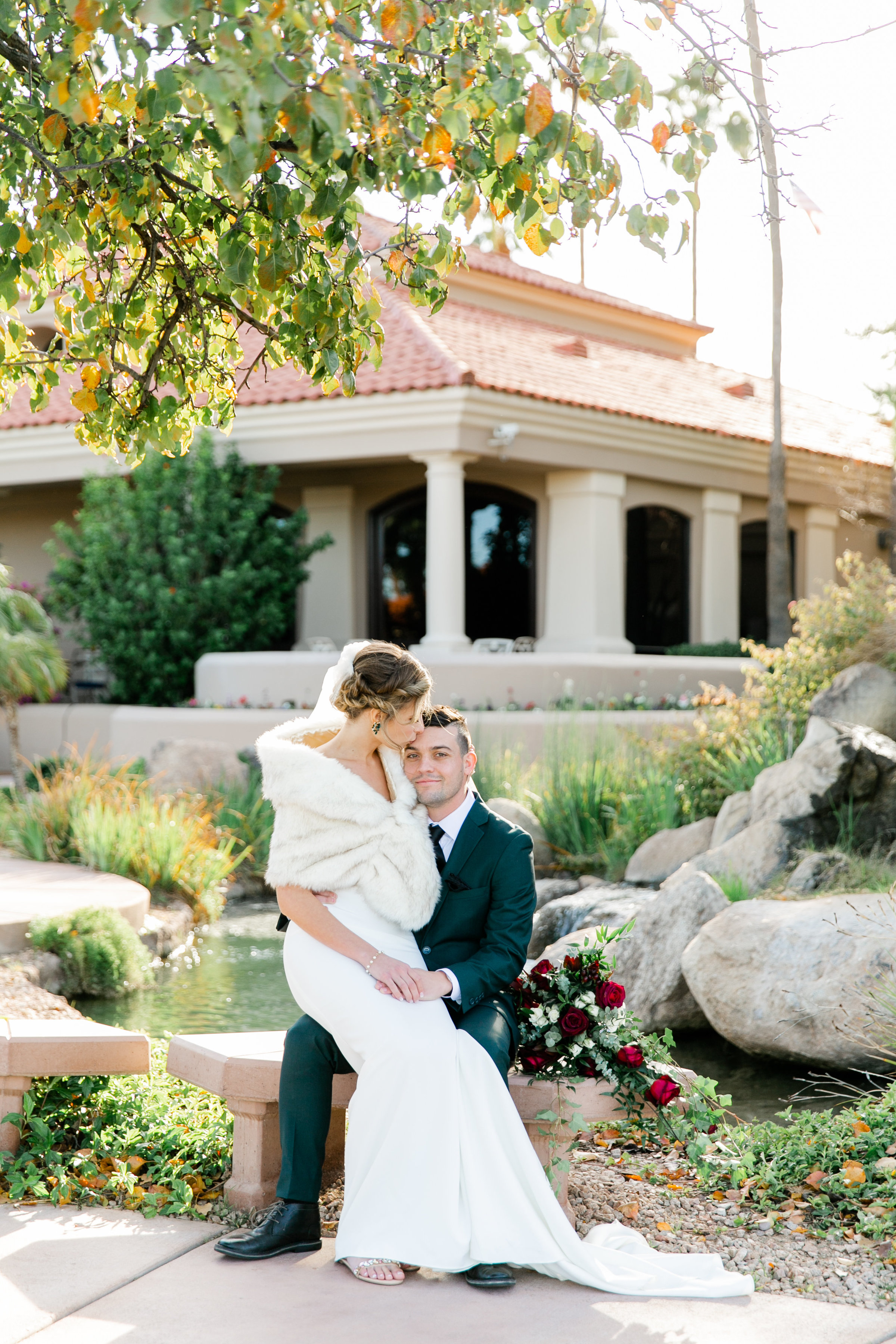 Karlie Colleen Photography - Gilbert Arizona Wedding - Val Vista Lakes - Brynne & Josh-459