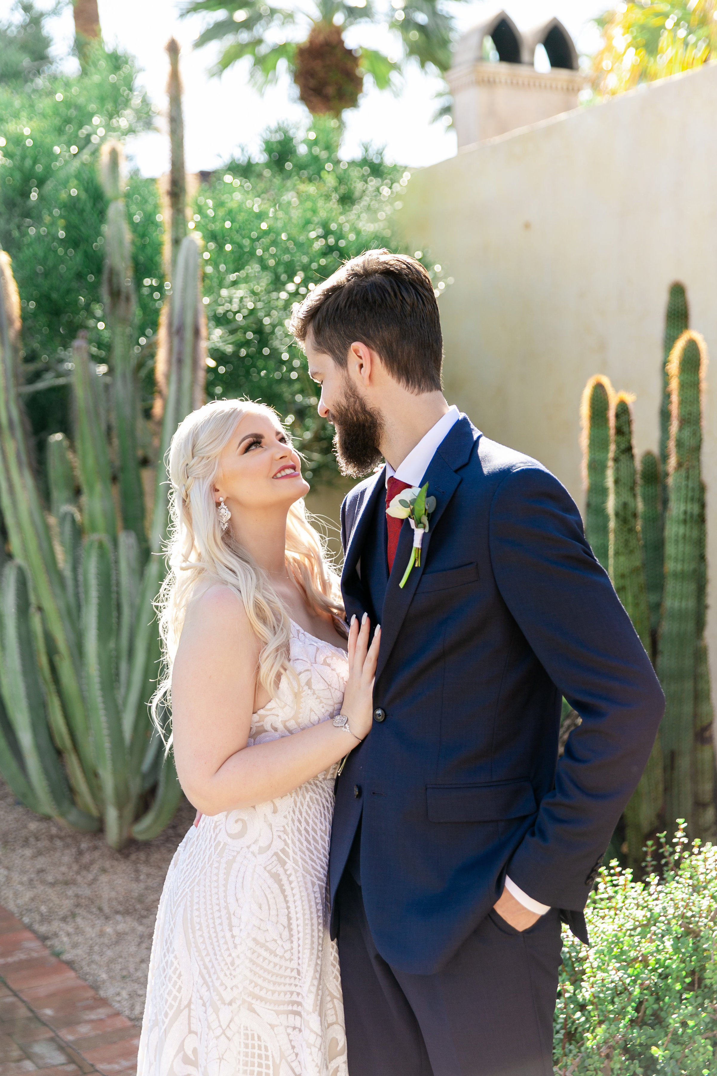 Karlie Colleen Photography - The Royal Palms Wedding - Some Like It Classic - Alex & Sam-150