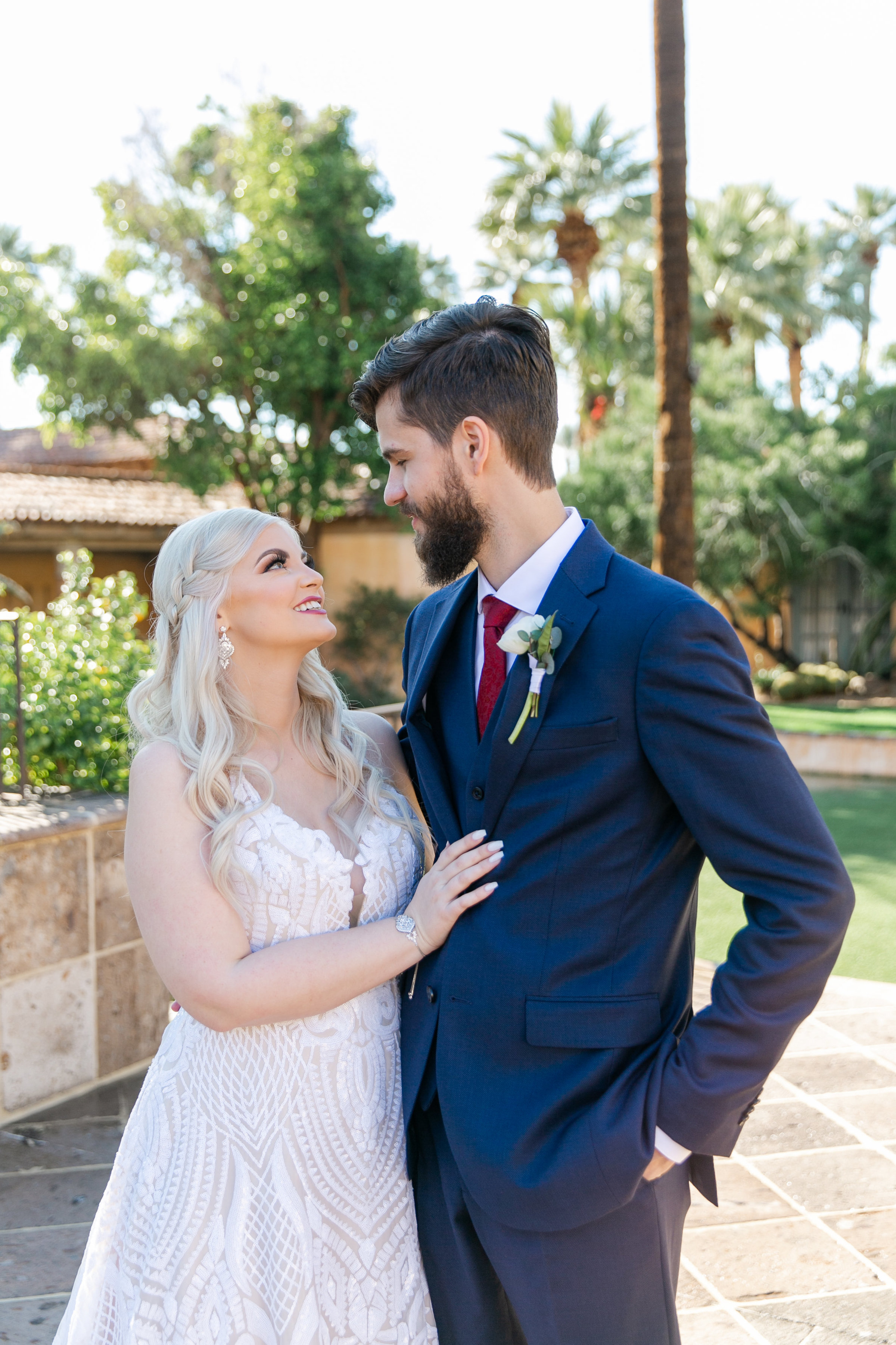 Karlie Colleen Photography - The Royal Palms Wedding - Some Like It Classic - Alex & Sam-117
