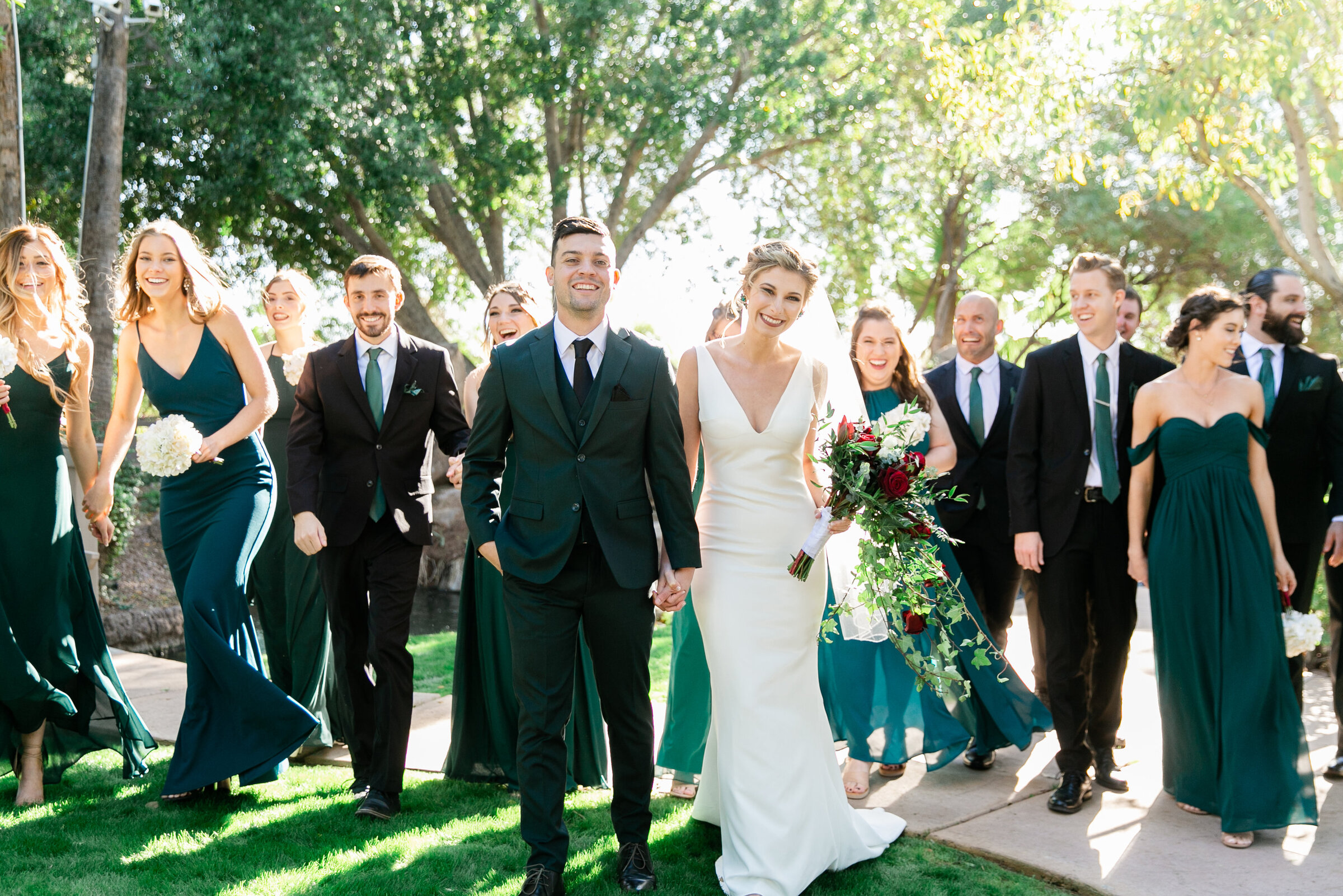 Karlie Colleen Photography - Gilbert Arizona Wedding - Val Vista Lakes - Brynne & Josh-196