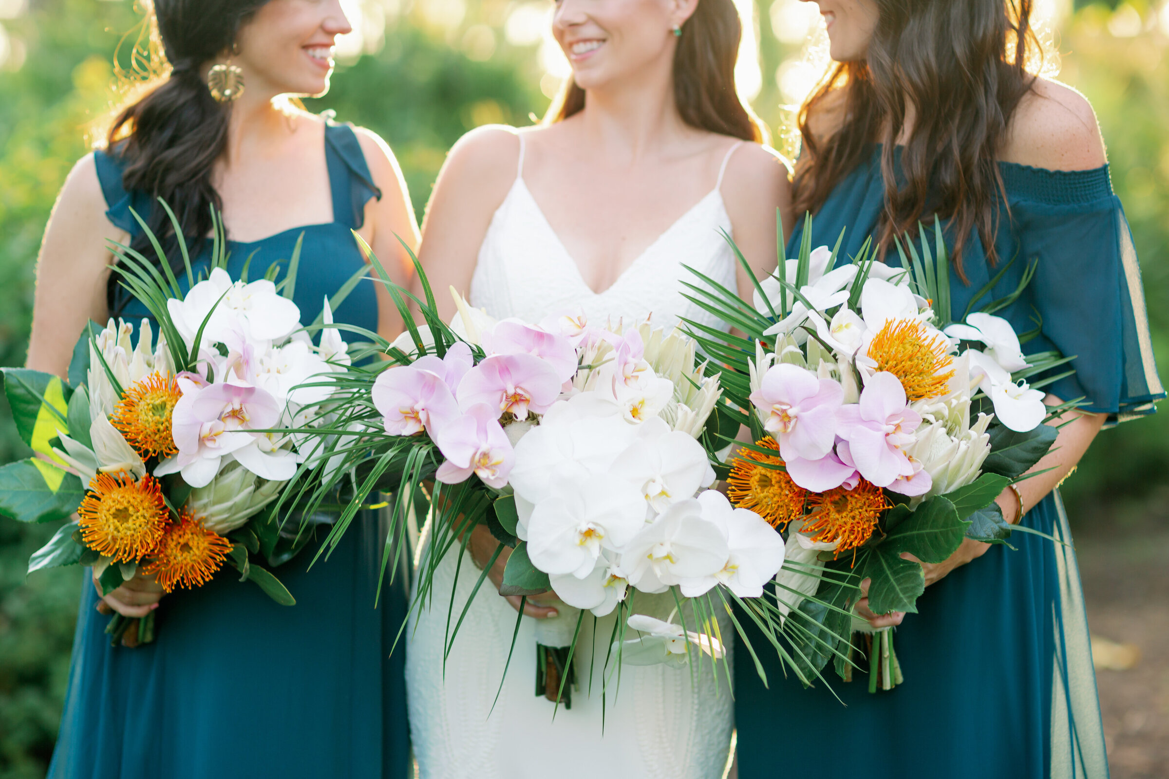 tropical naples wedding