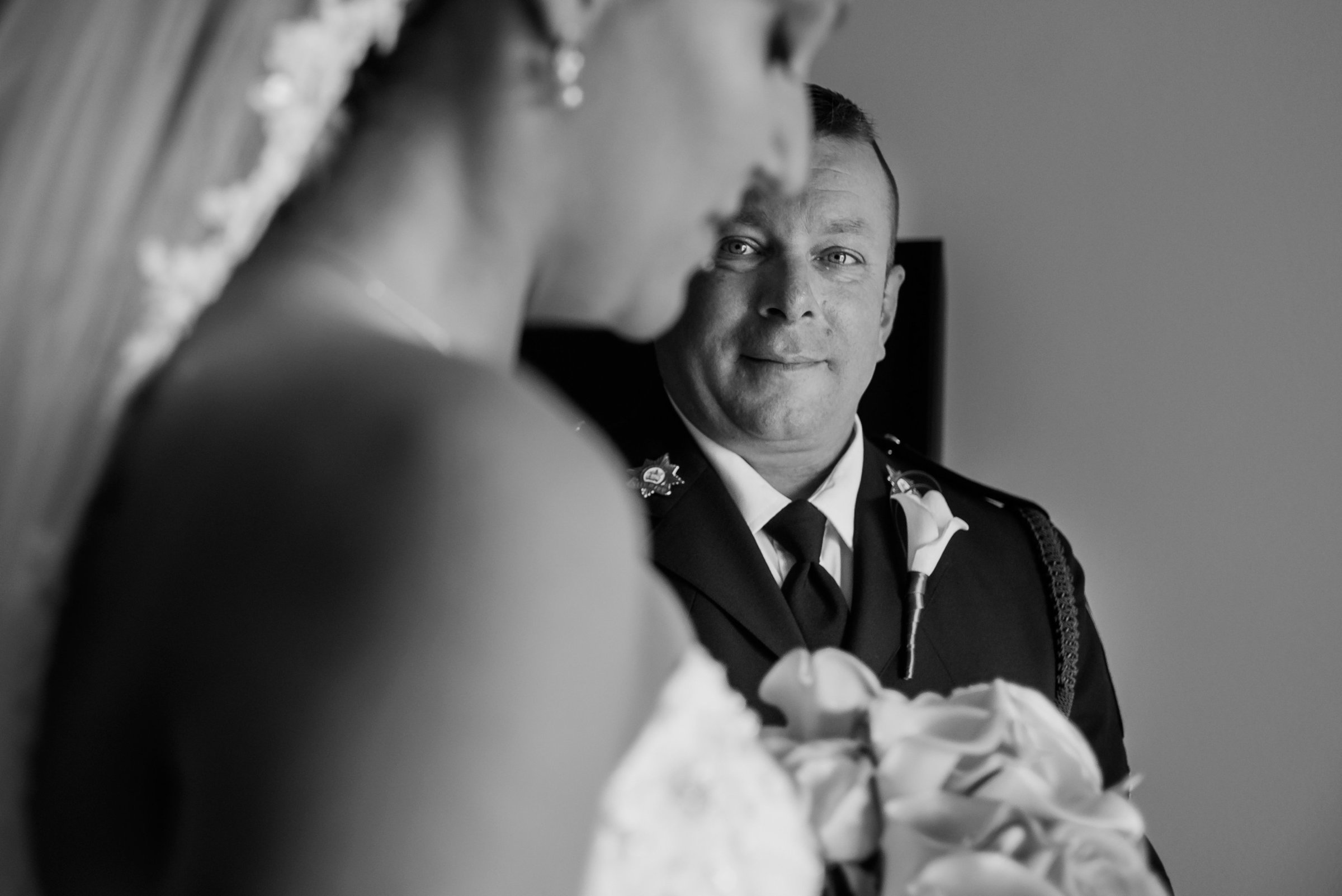 Canmore Coast Hotel Wedding Photo by Chrystal Stringer