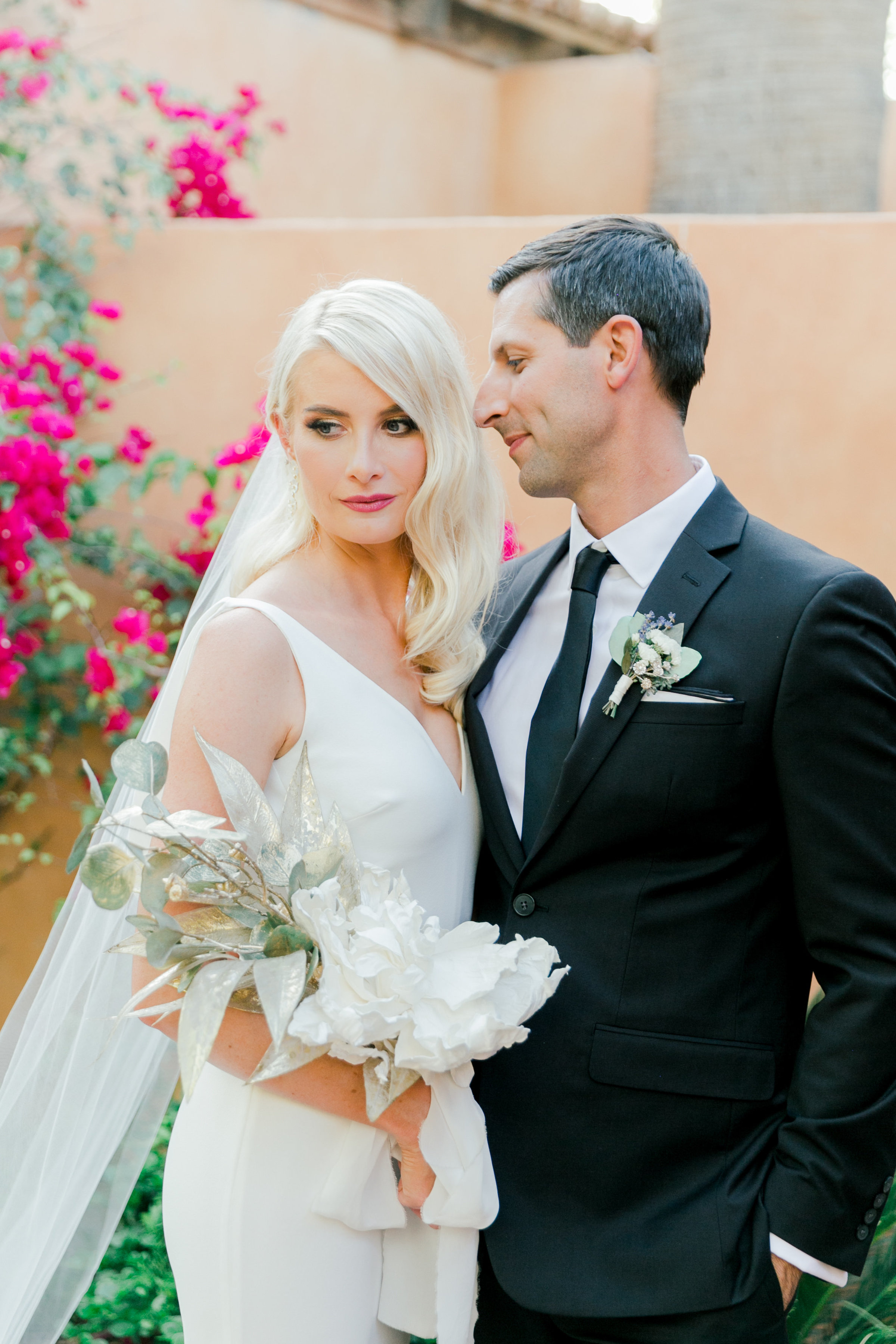 Karlie Colleen Photography - Arizona Wedding - Royal Palms Resort- Alex & Alex-113